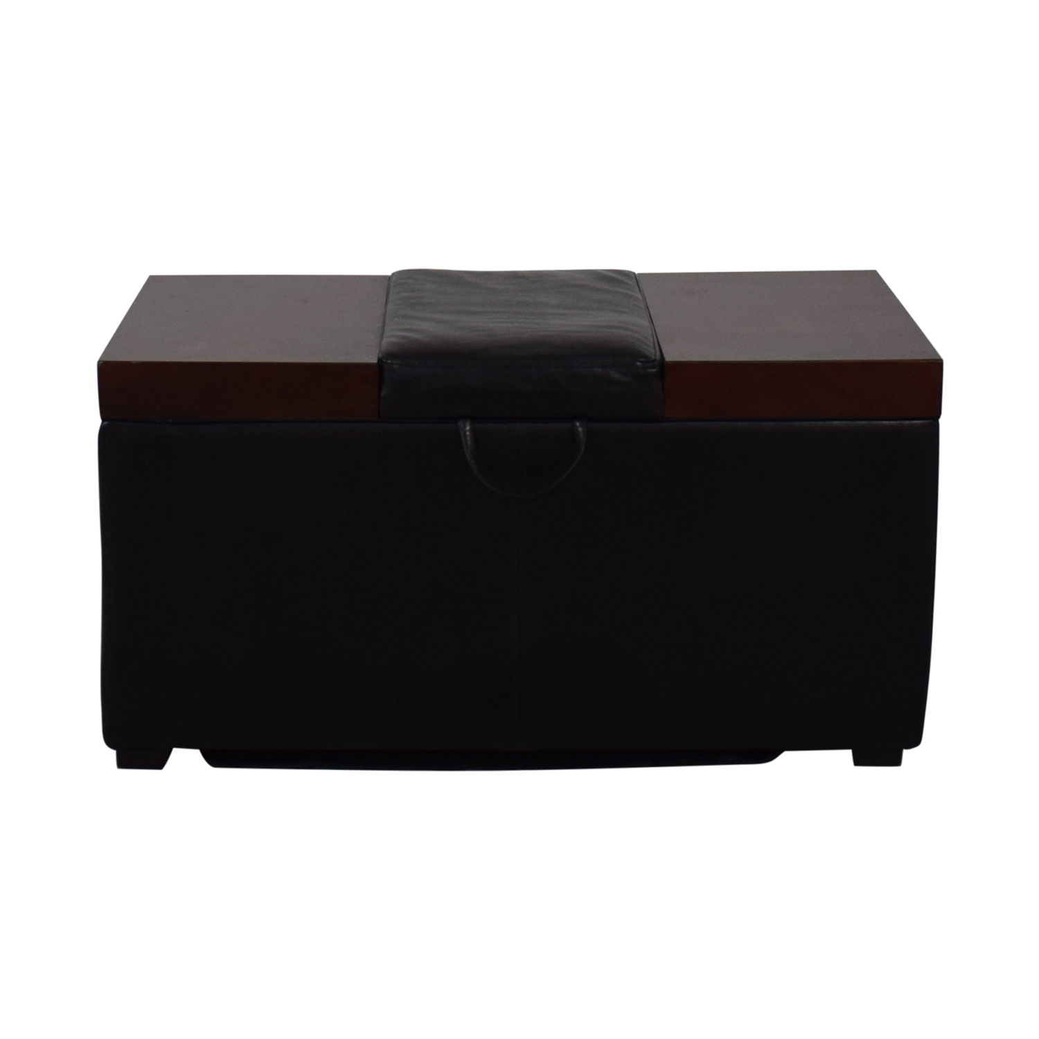 Belham Living Belham Living Madison Lift Top Upholstered Storage Ottoman for sale