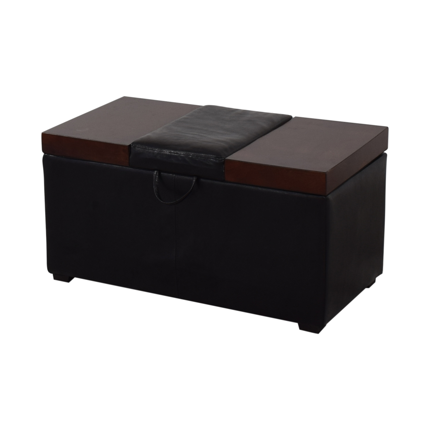 Belham Living Madison Lift Top Upholstered Storage Ottoman / Chairs