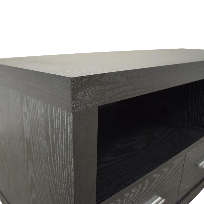 buy Coaster Fine Furniture Coaster Black Three-Drawer Media Cabinet online