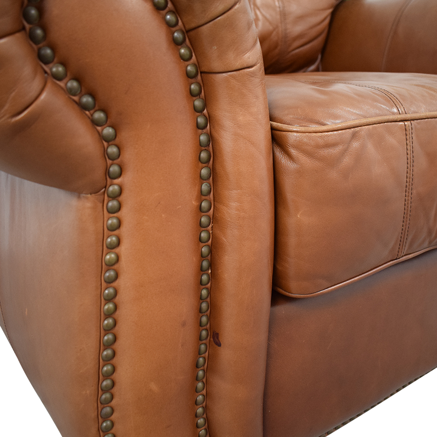 buy Thomasville Thomasville Leather Sofa Chair online