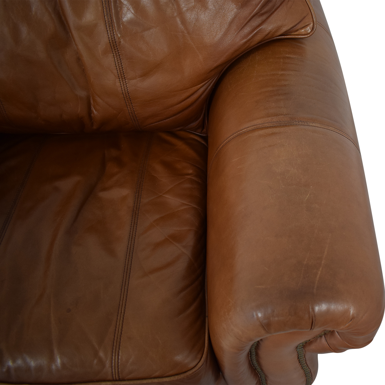 Thomasville Thomasville Leather Sofa Chair on sale