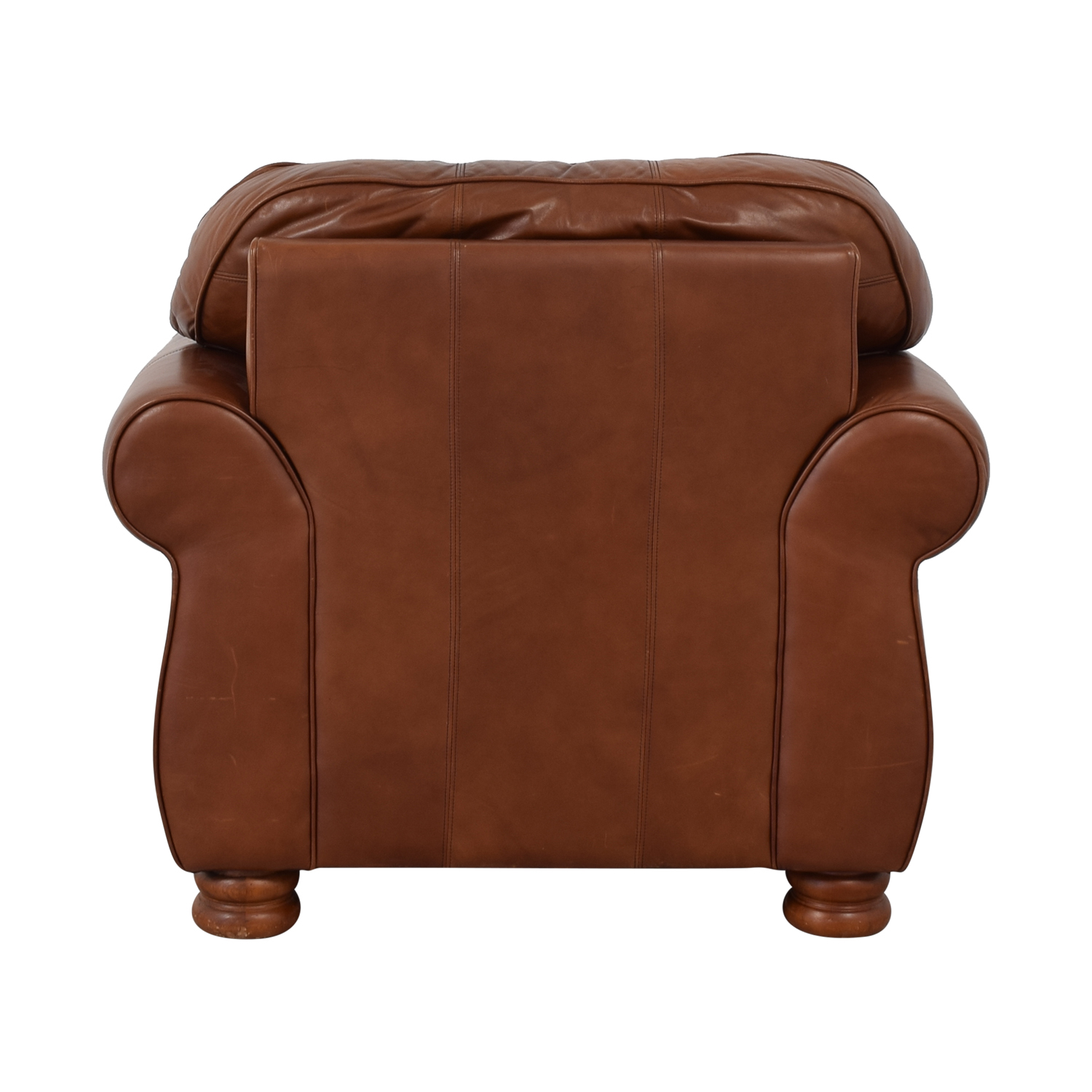 Thomasville Leather Sofa Chair sale