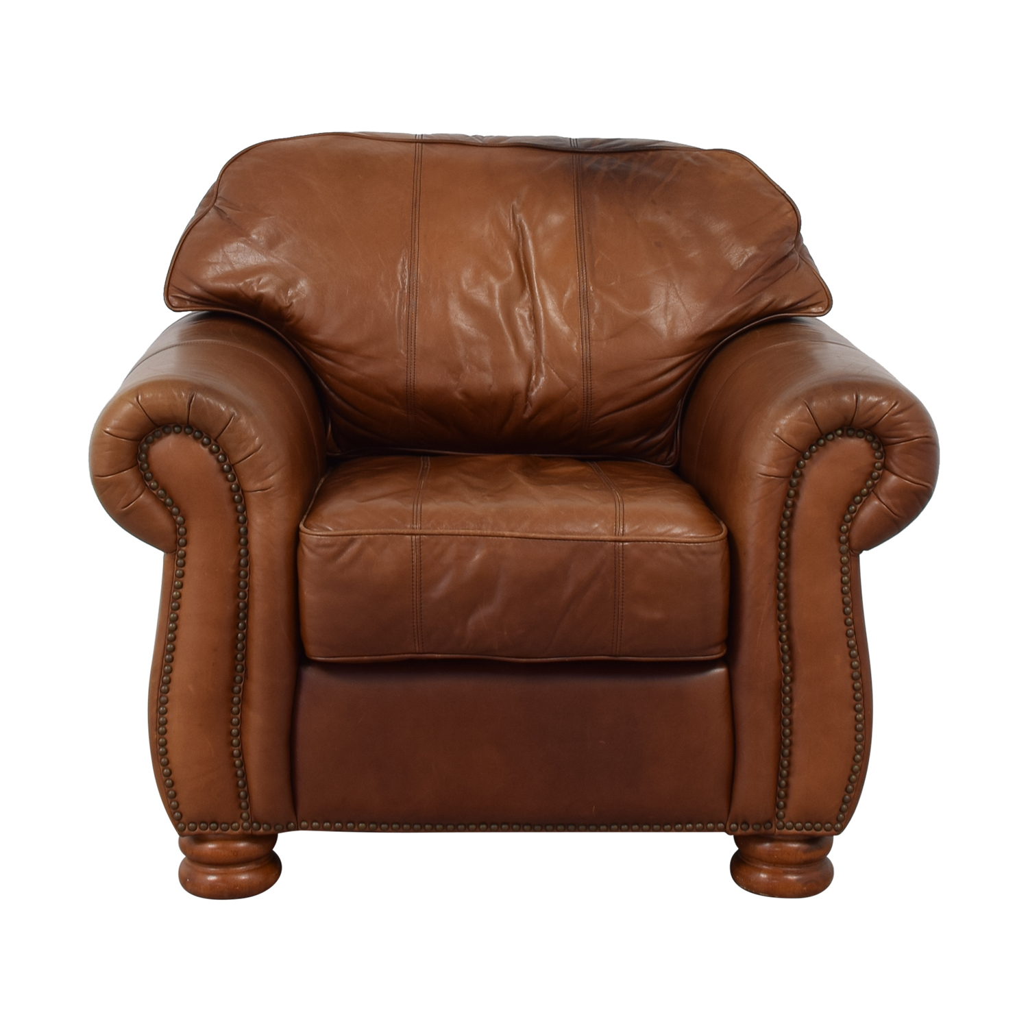 Thomasville Thomasville Leather Sofa Chair for sale
