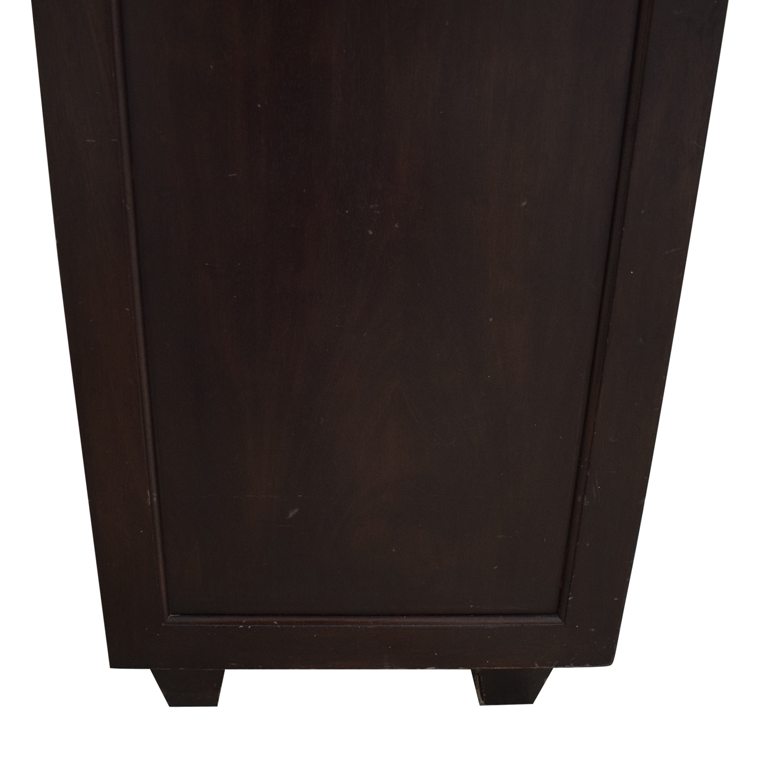 Stationary Cabinet with Drawers used