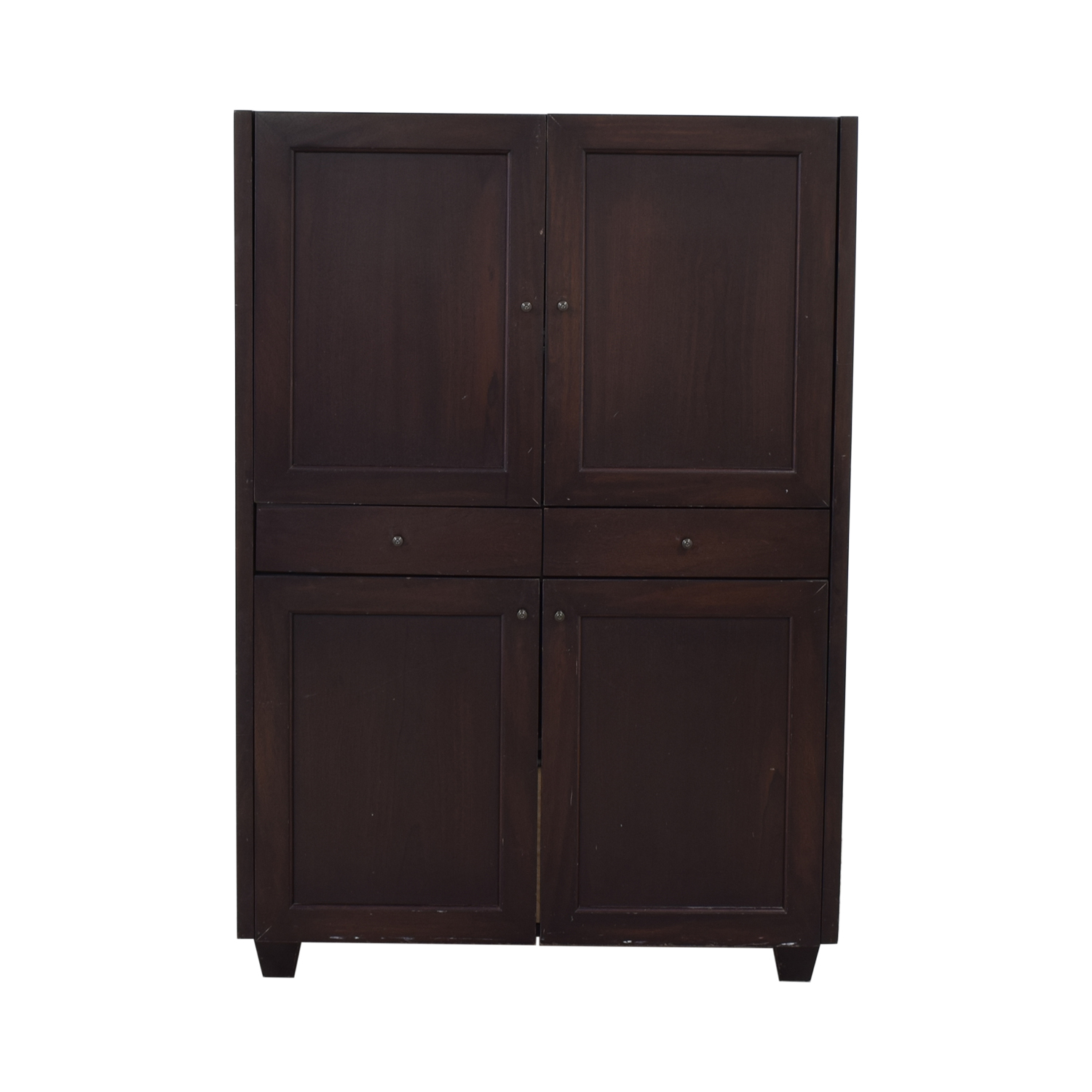 Stationary Cabinet with Drawers nyc