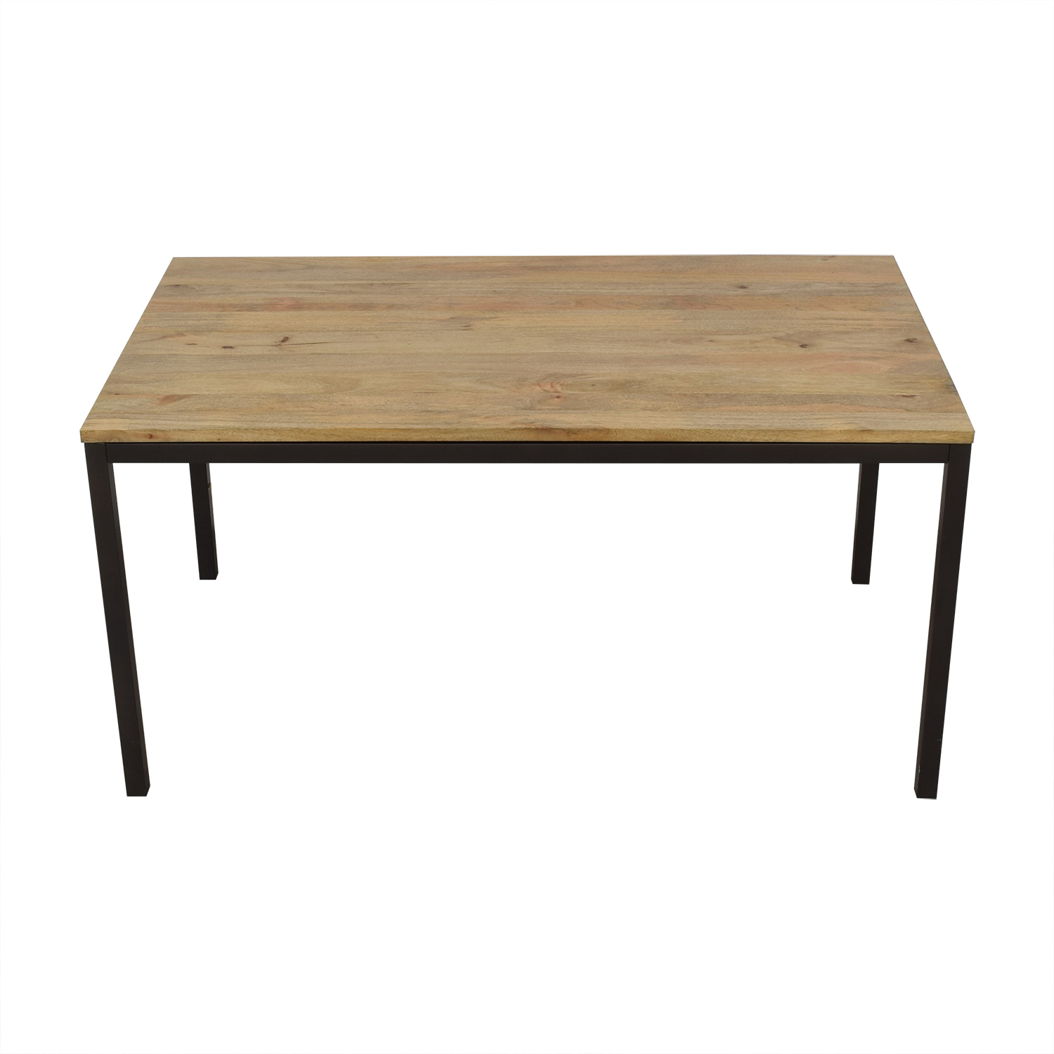 shop West Elm Box Frame Dining Table West Elm Dinner Tables
