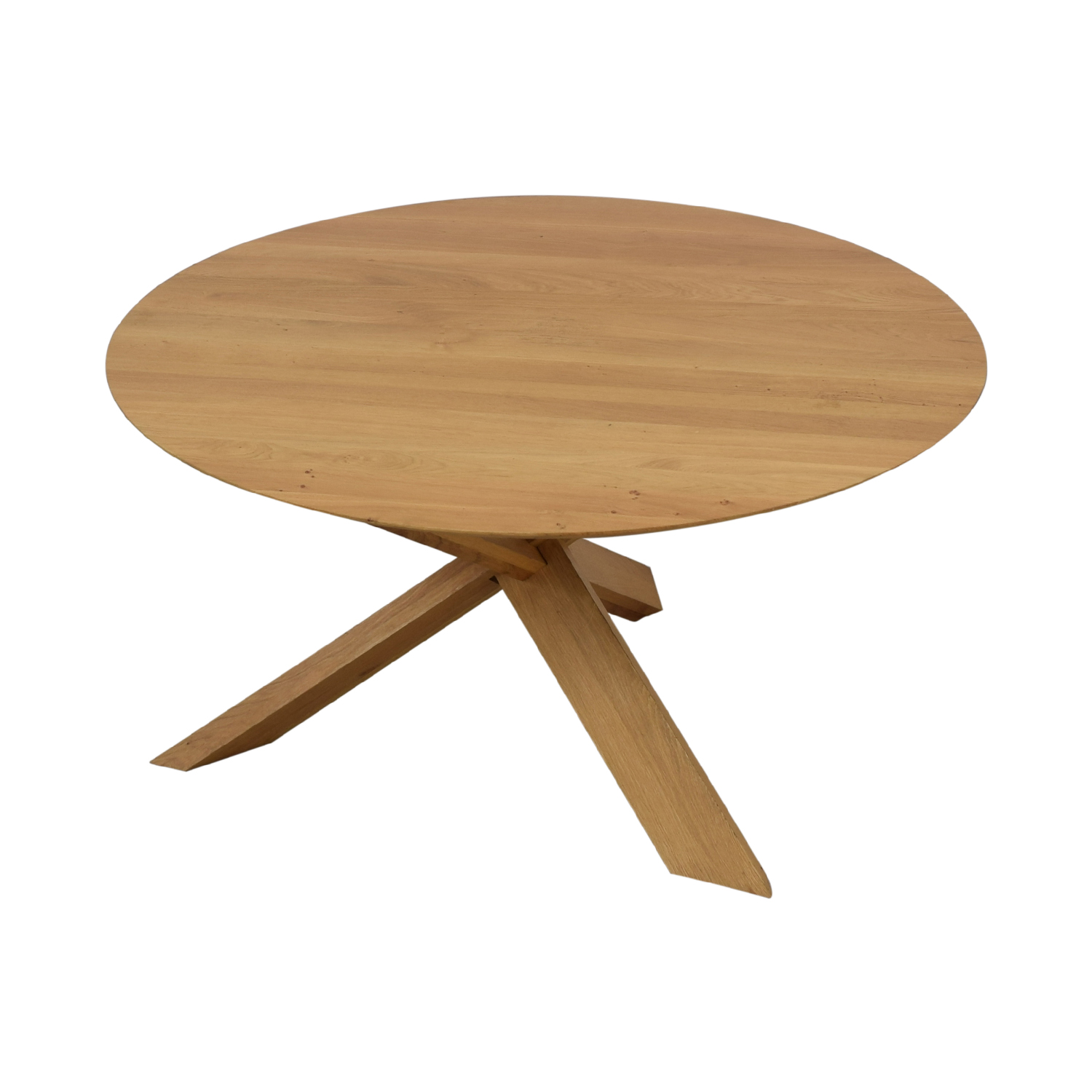 shop Ethnicraft Circle Dining Table Ethnicraft