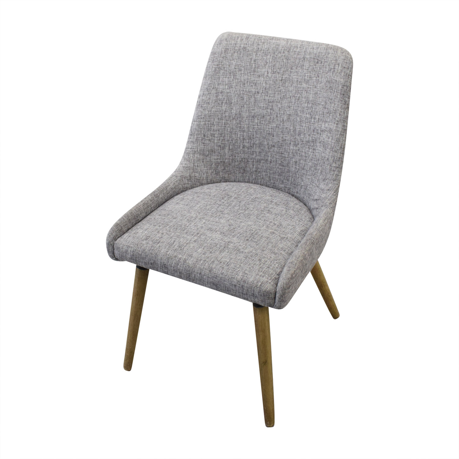 shop West Elm Mid-Century Upholstered Dining Chairs West Elm Dining Chairs