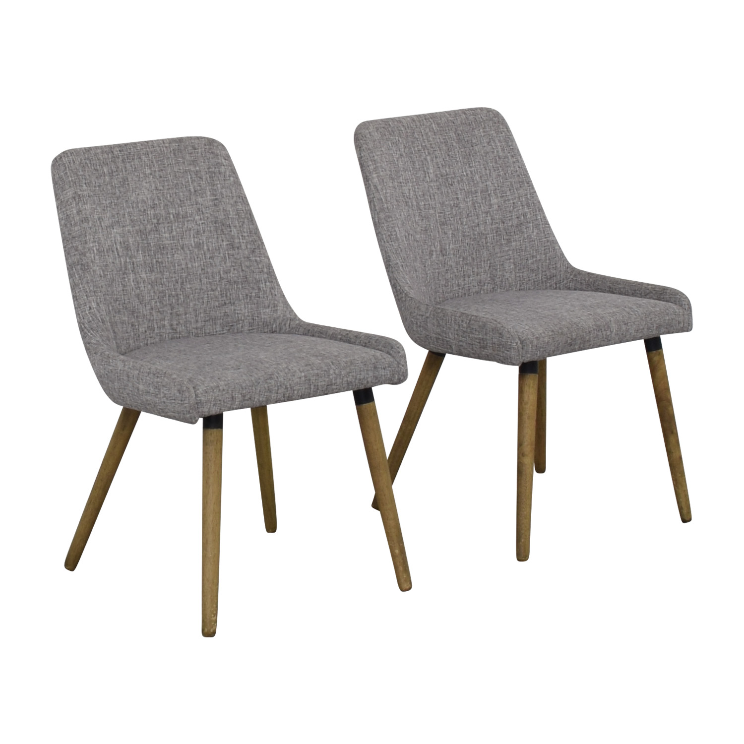 West Elm Mid-Century Upholstered Dining Chairs / Chairs