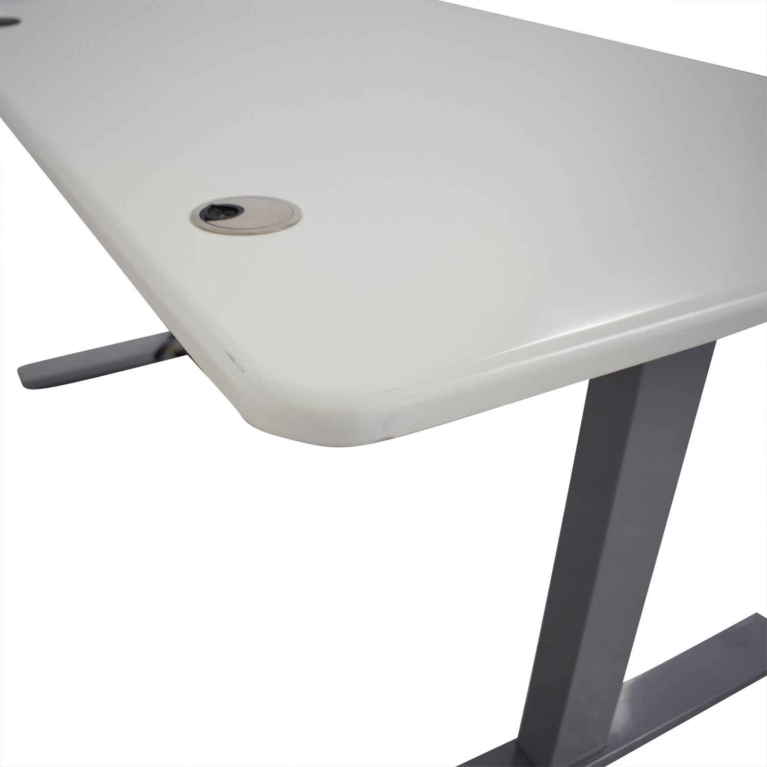 Poppin Poppin Series L Adjustable Height Single Desk