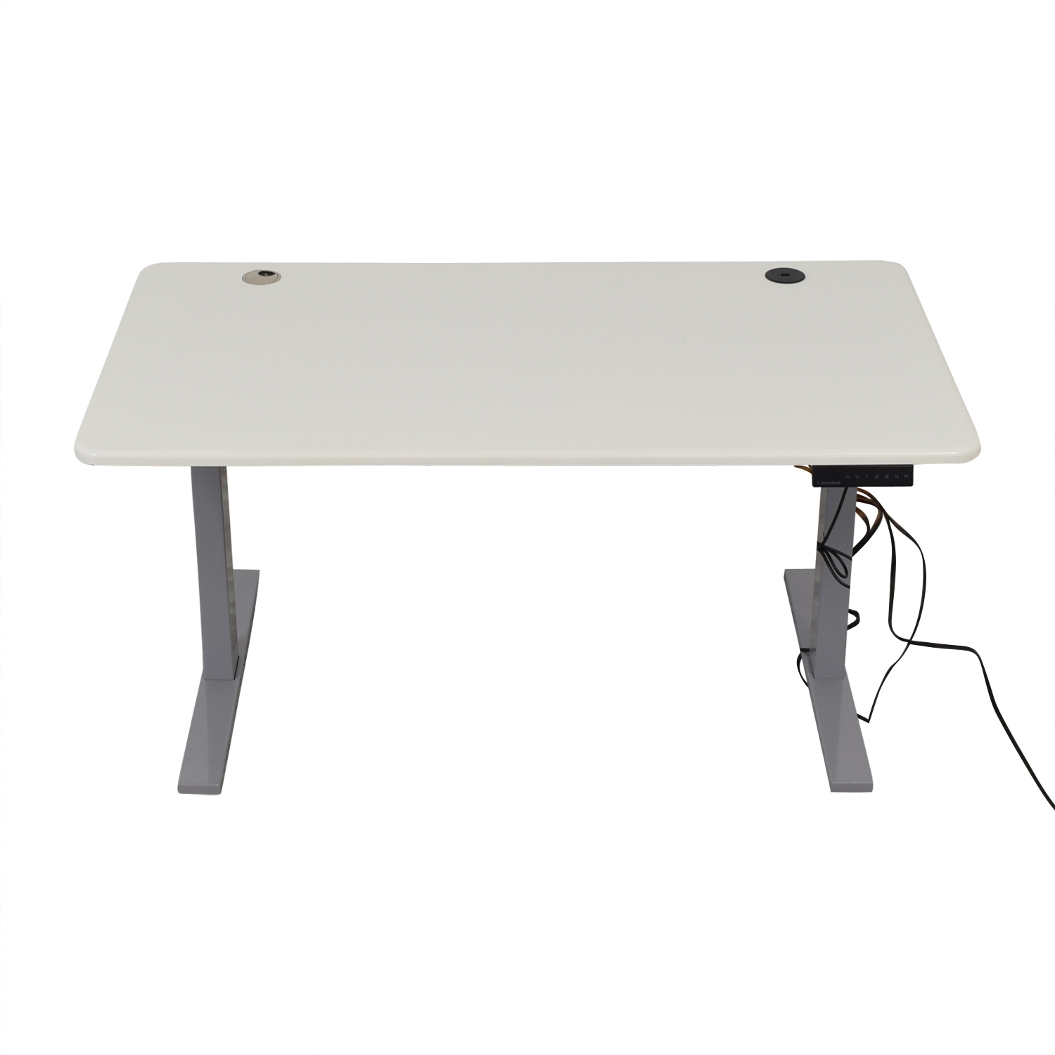 buy Poppin Series L Adjustable Height Single Desk Poppin