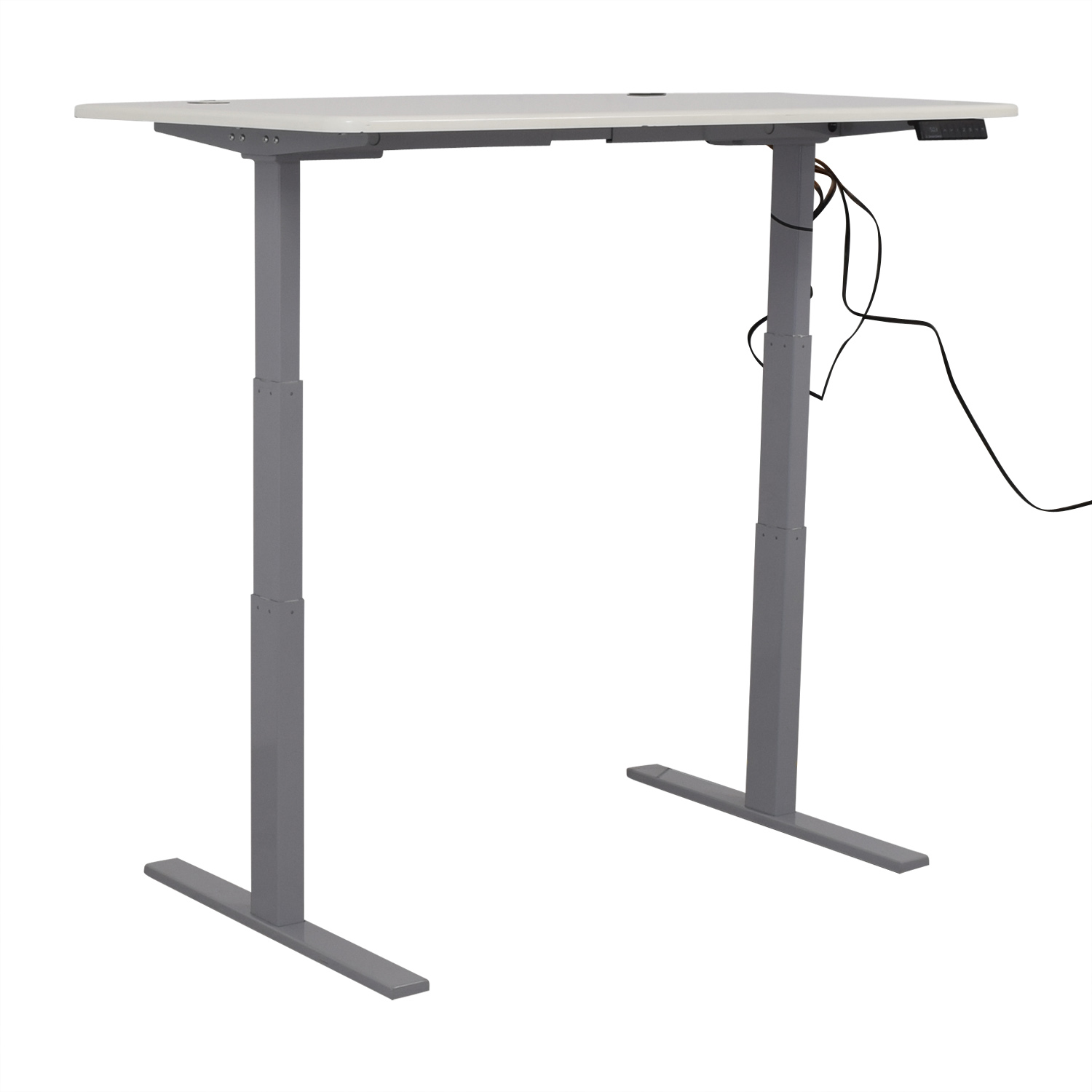 Poppin Series L Adjustable Height Single Desk sale