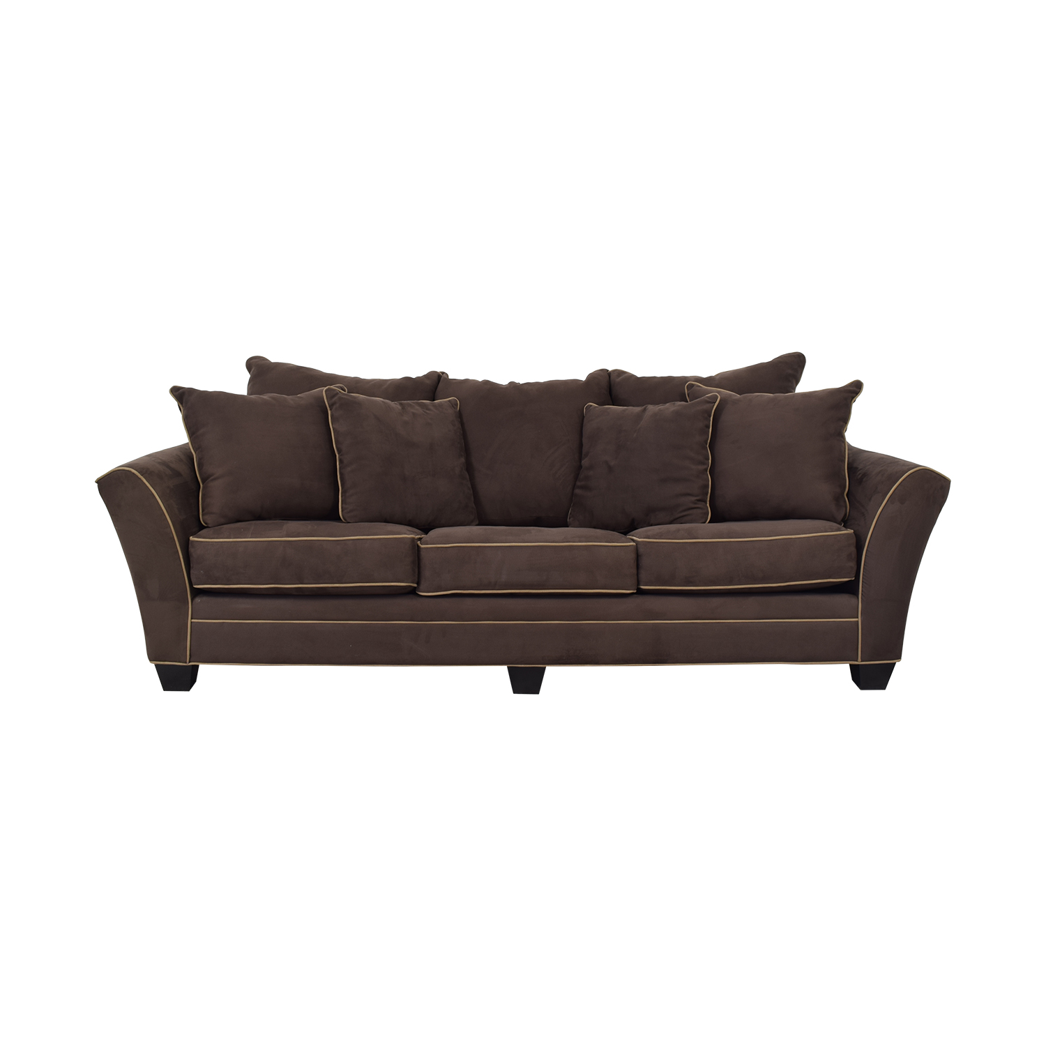 shop Raymour & Flanigan Microfiber Sleeper Sofa Raymour & Flanigan Sofas