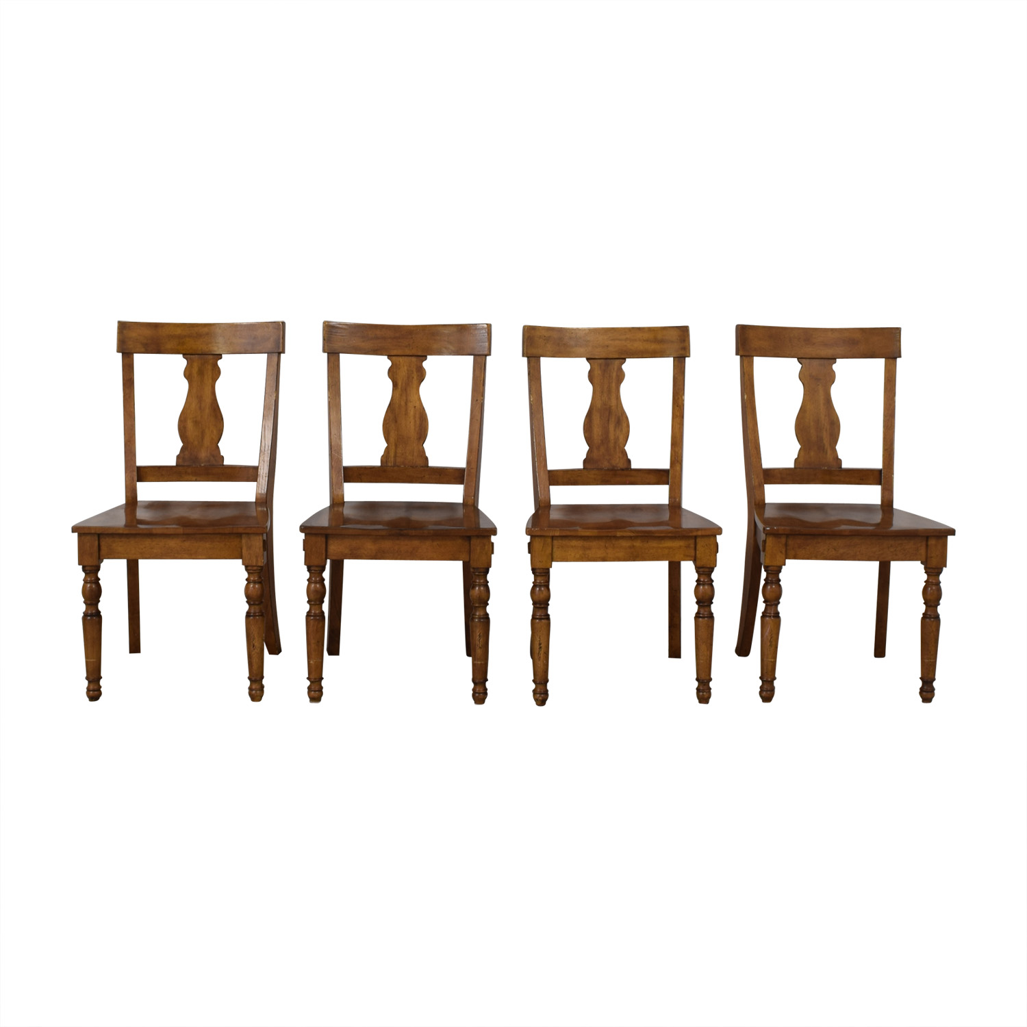Pottery Barn Harvest Dining Side Chairs sale