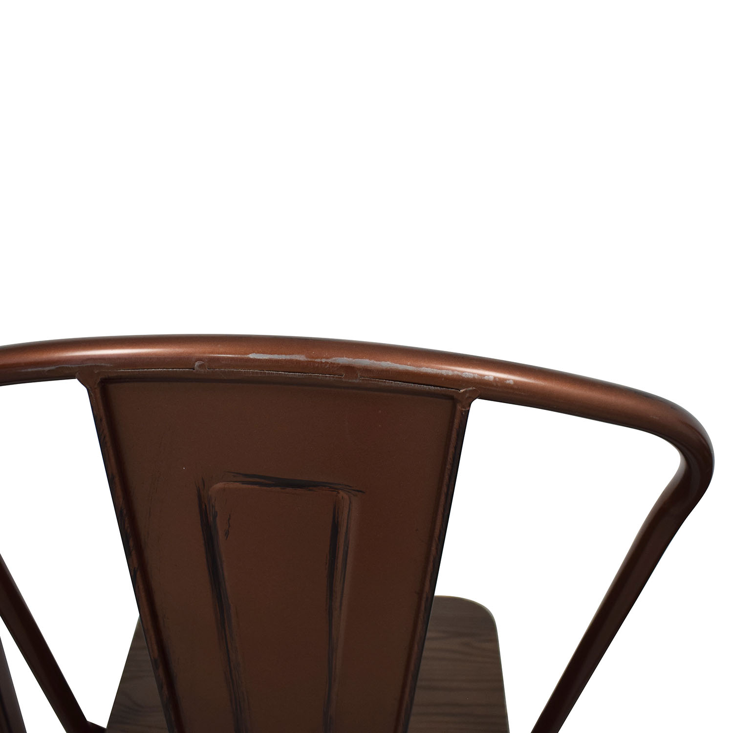 buy Overstock Overstock Tabouret Wood Seat Brushed Copper Bistro Bar Stools online