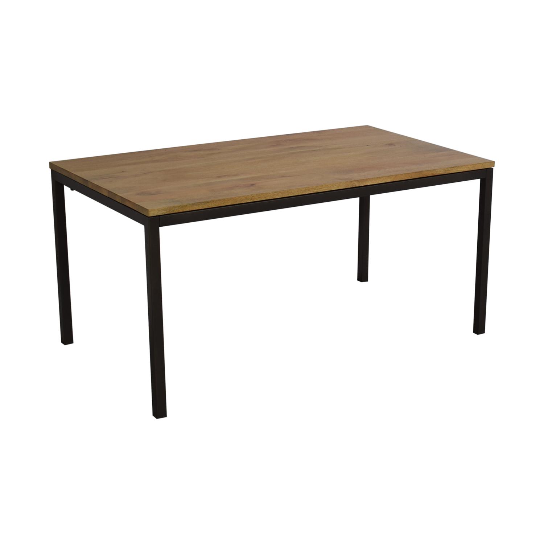 buy West Elm West Elm Box Frame Dining Table online
