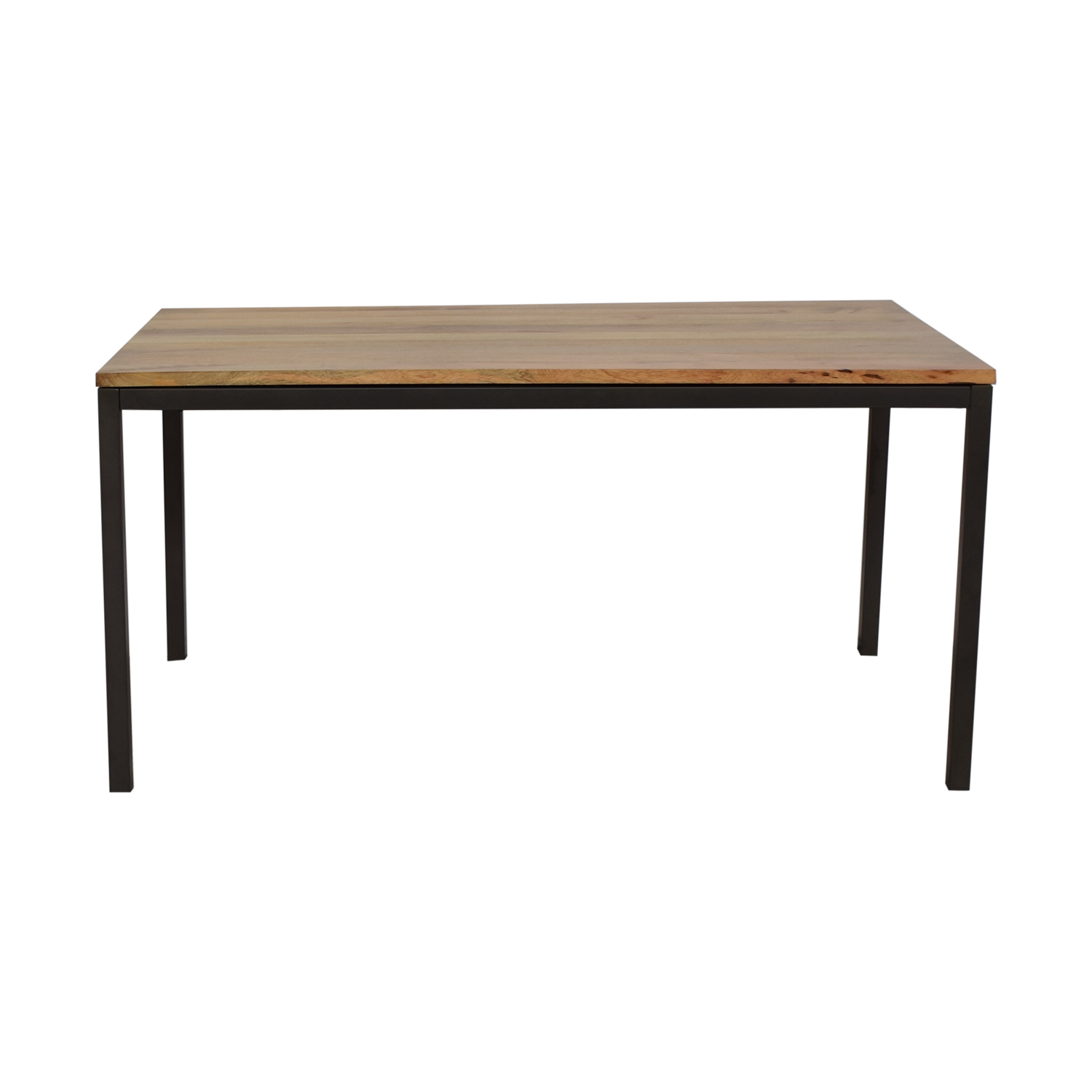 shop West Elm Box Frame Dining Table West Elm Tables