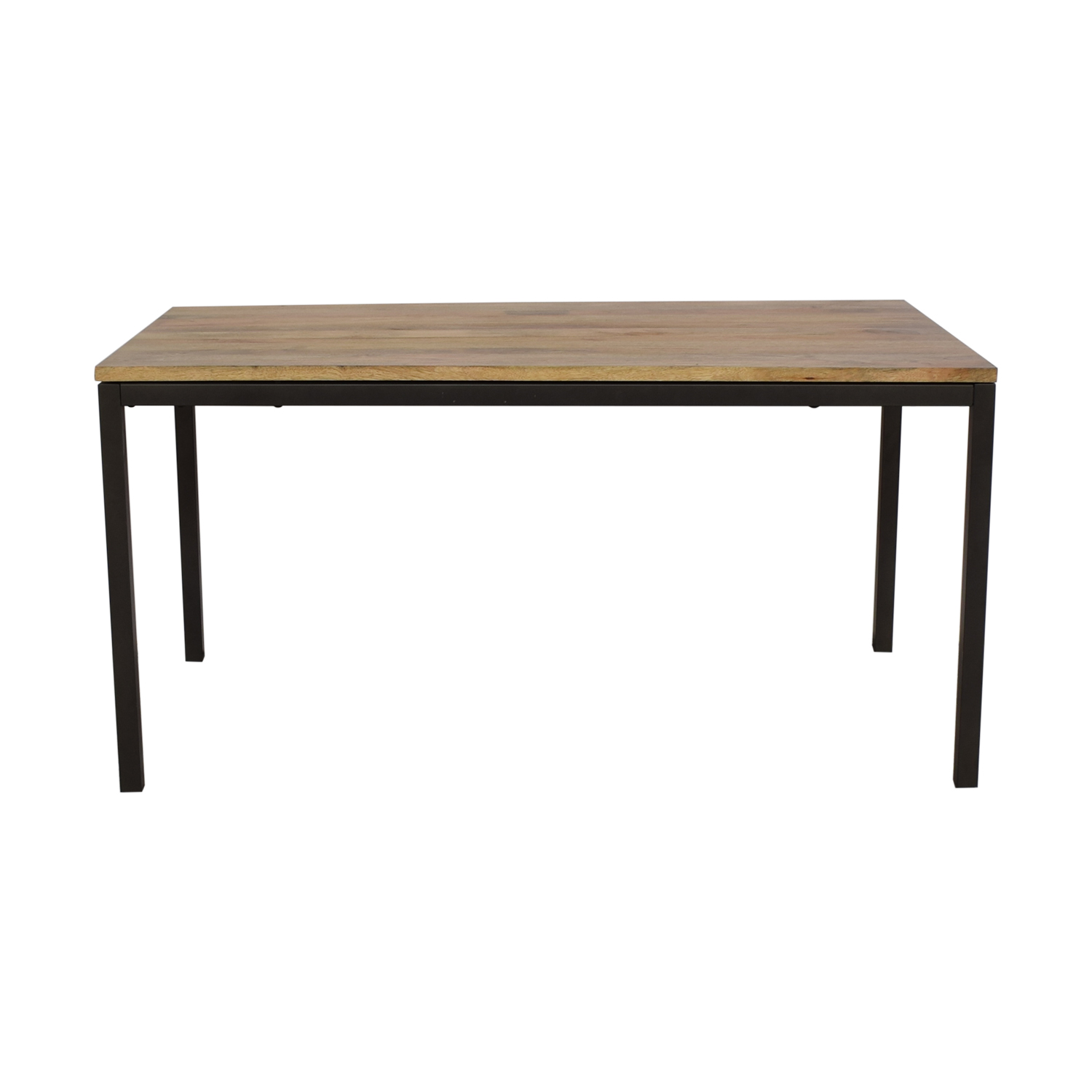 West Elm Box Frame Dining Table sale