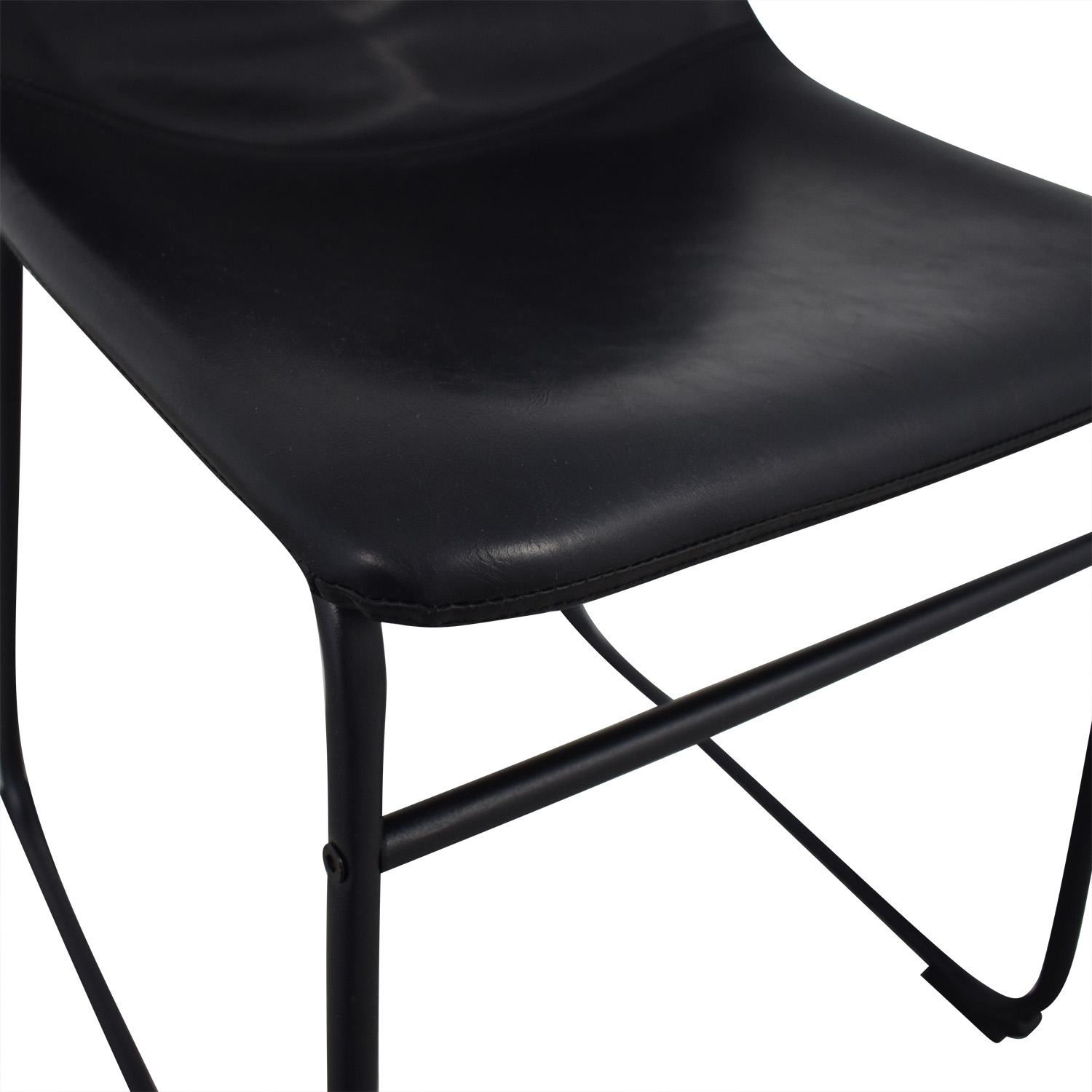 Walker Edison Walker Edison Industrial Faux Leather Dining Chair price