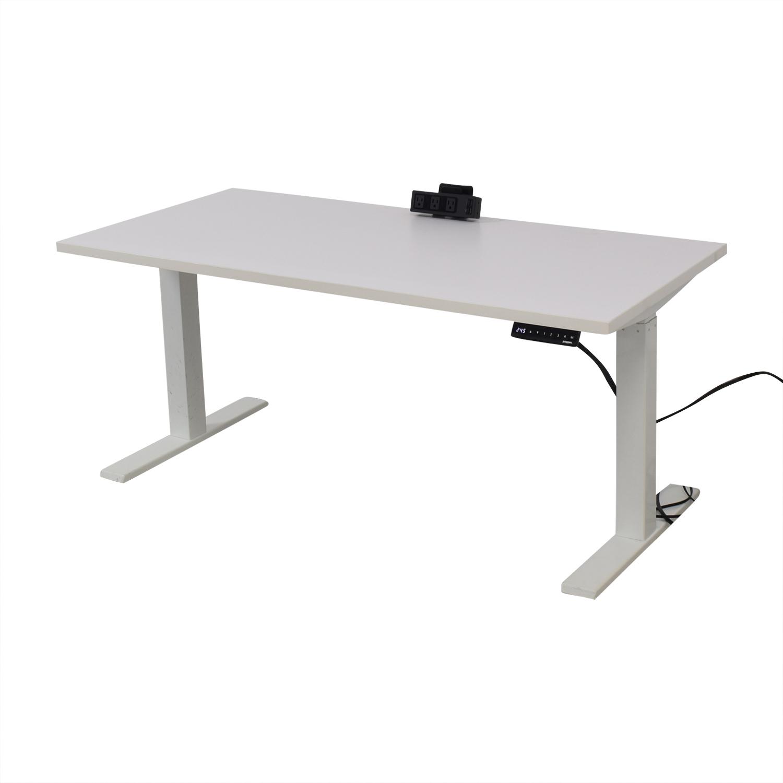 Poppin Poppin Series L Adjustable Height Single Desk