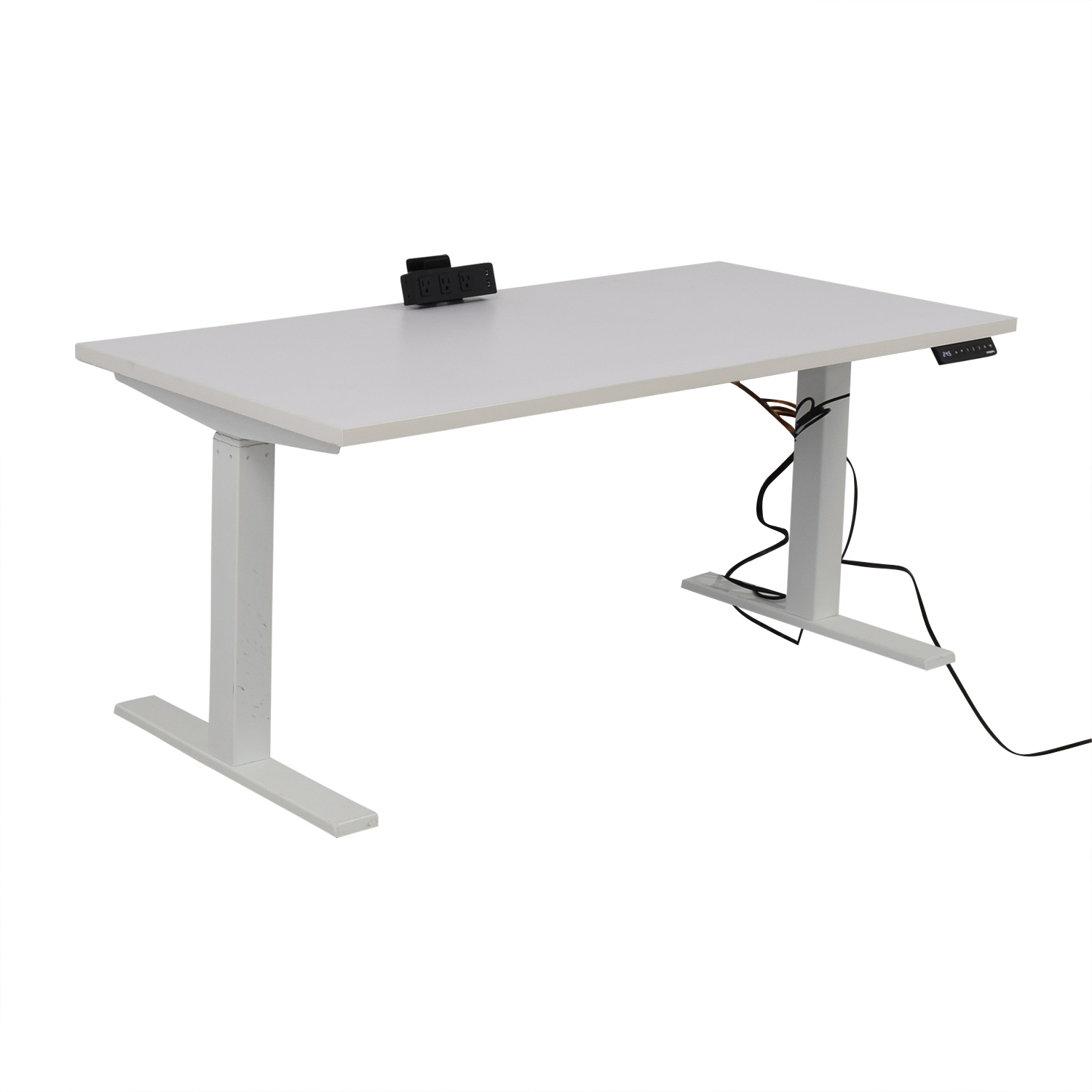 Poppin Poppin Series L Adjustable Height Single Desk second hand