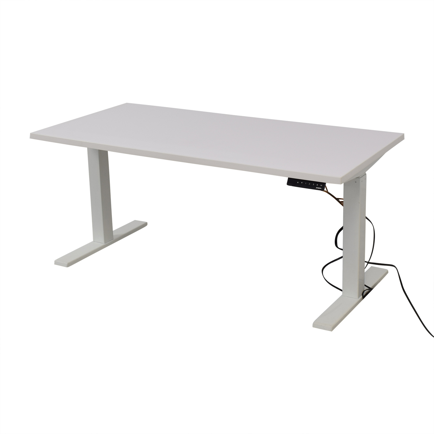 Poppin Poppin Series L Adjustable Height Single Desk coupon