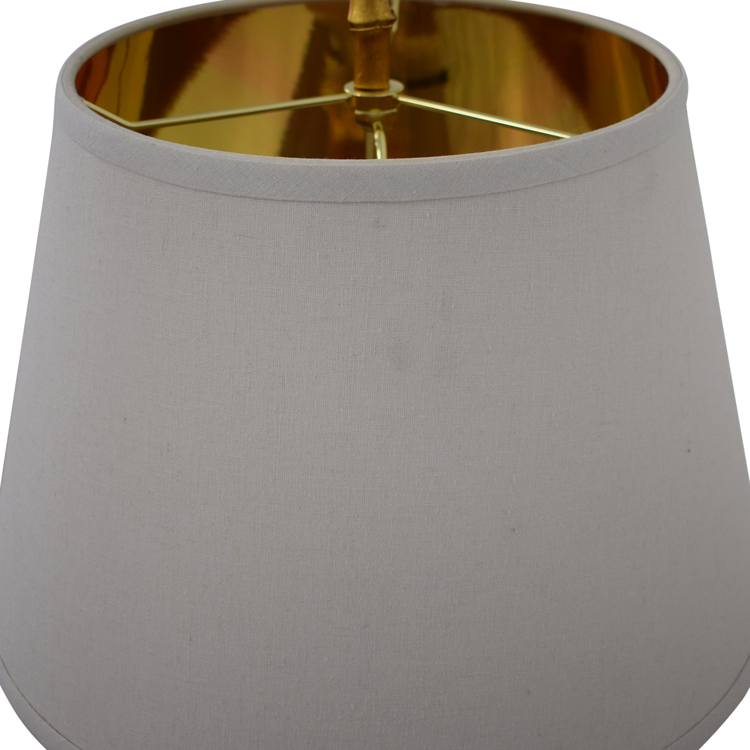 Horchow Horchow Golden Bamboo Table Lamp for sale