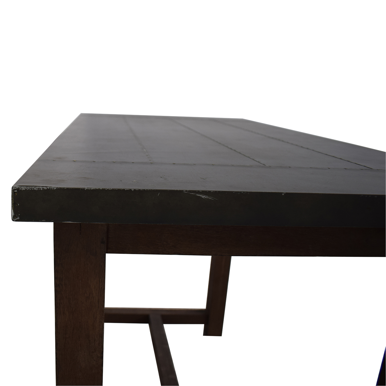 CB2 Crate & Barrel High Counter Table Dinner Tables
