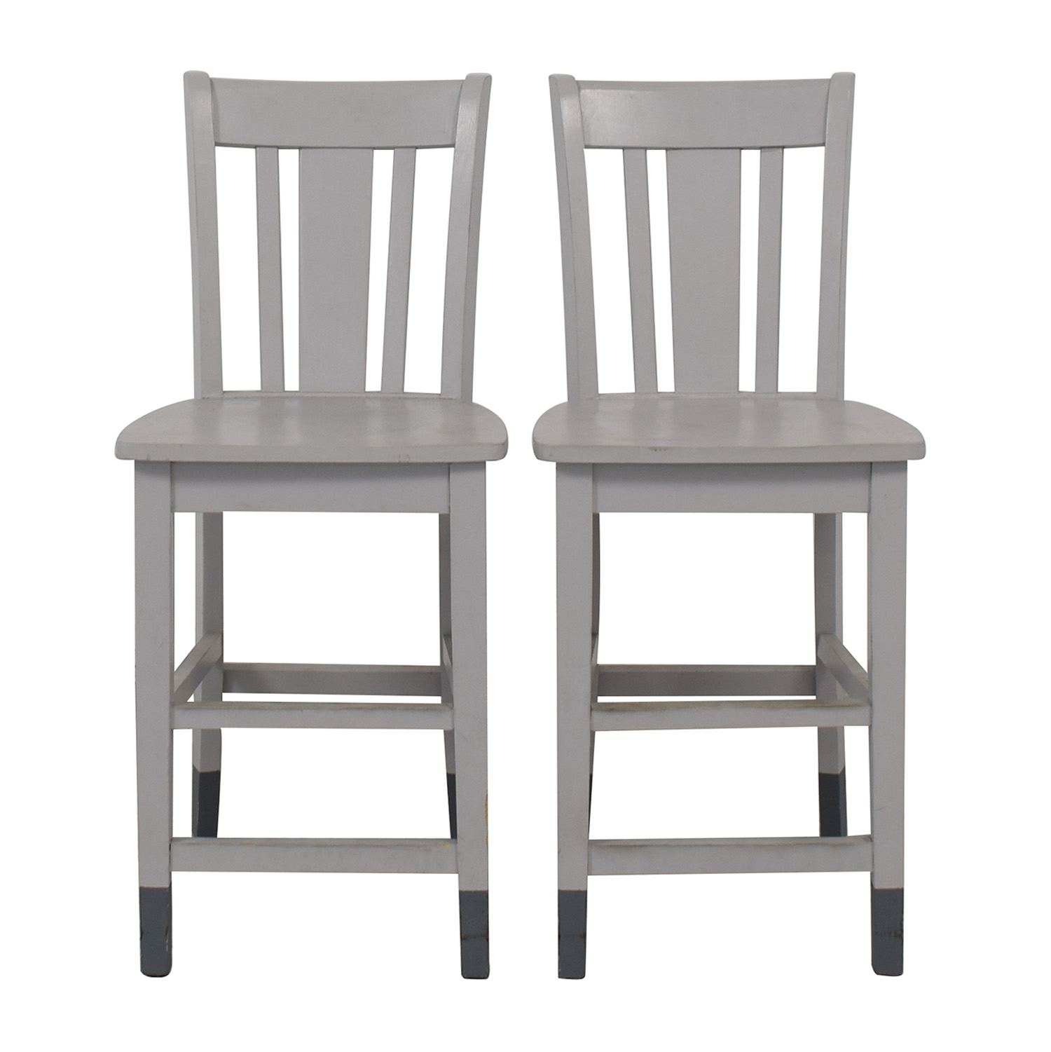 shop Grey Wood Counter-Height Chairs  Chairs