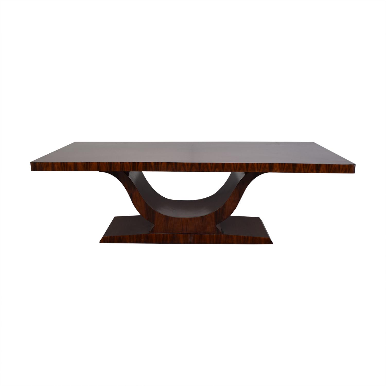 High Gloss Art Deco Style Table