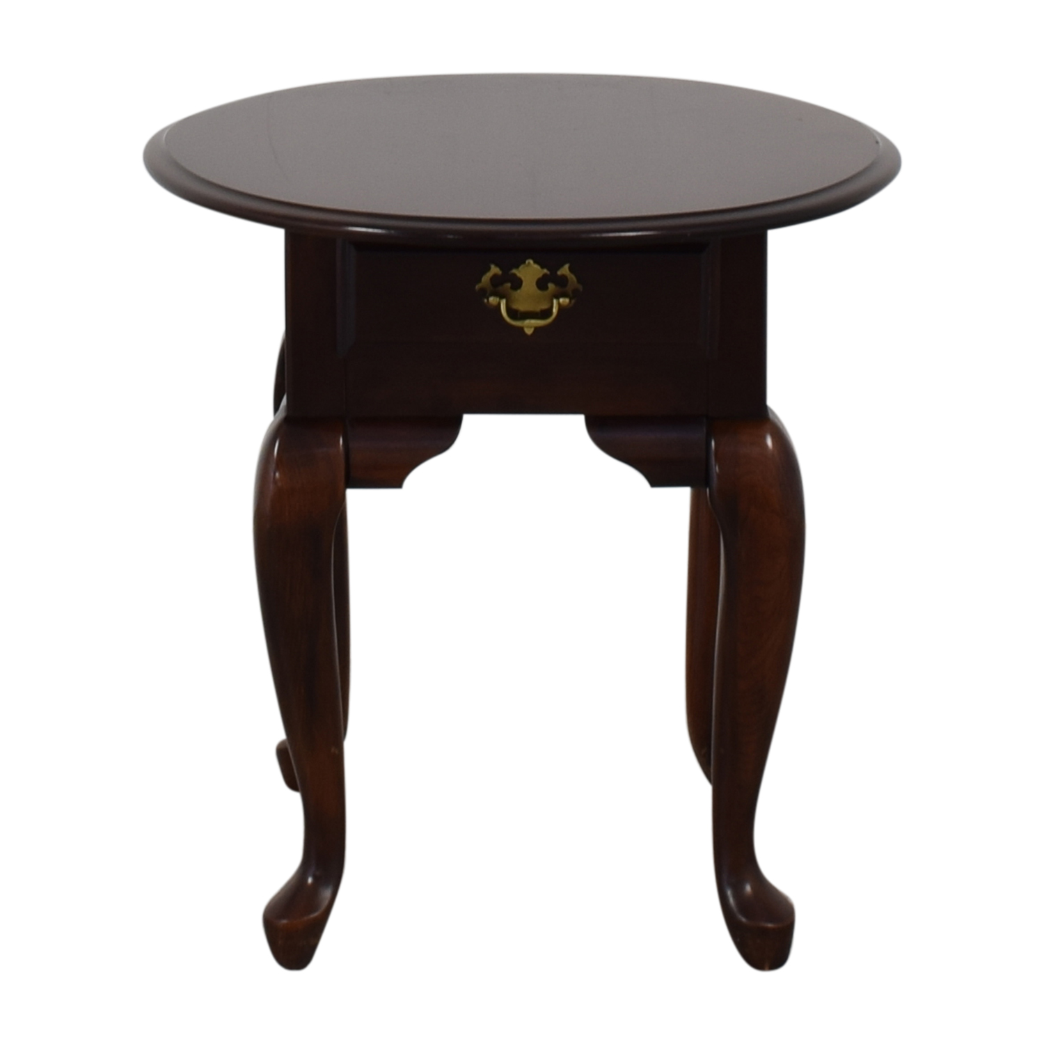 Thomasville Thomasville End Table dark brown