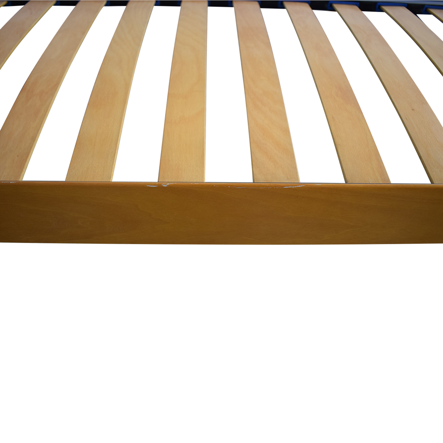 Curved Headboard Queen Platform Bed used
