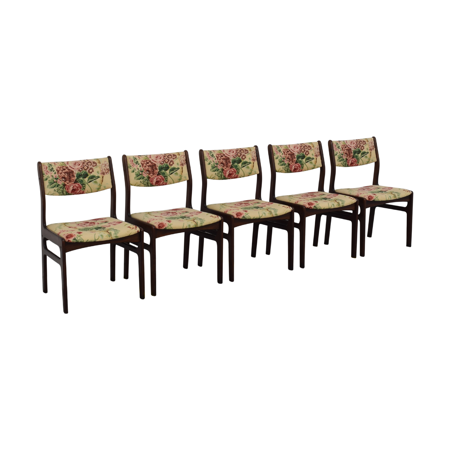 Dyrlund Dyrlund Danish Modern Dining Chairs multi