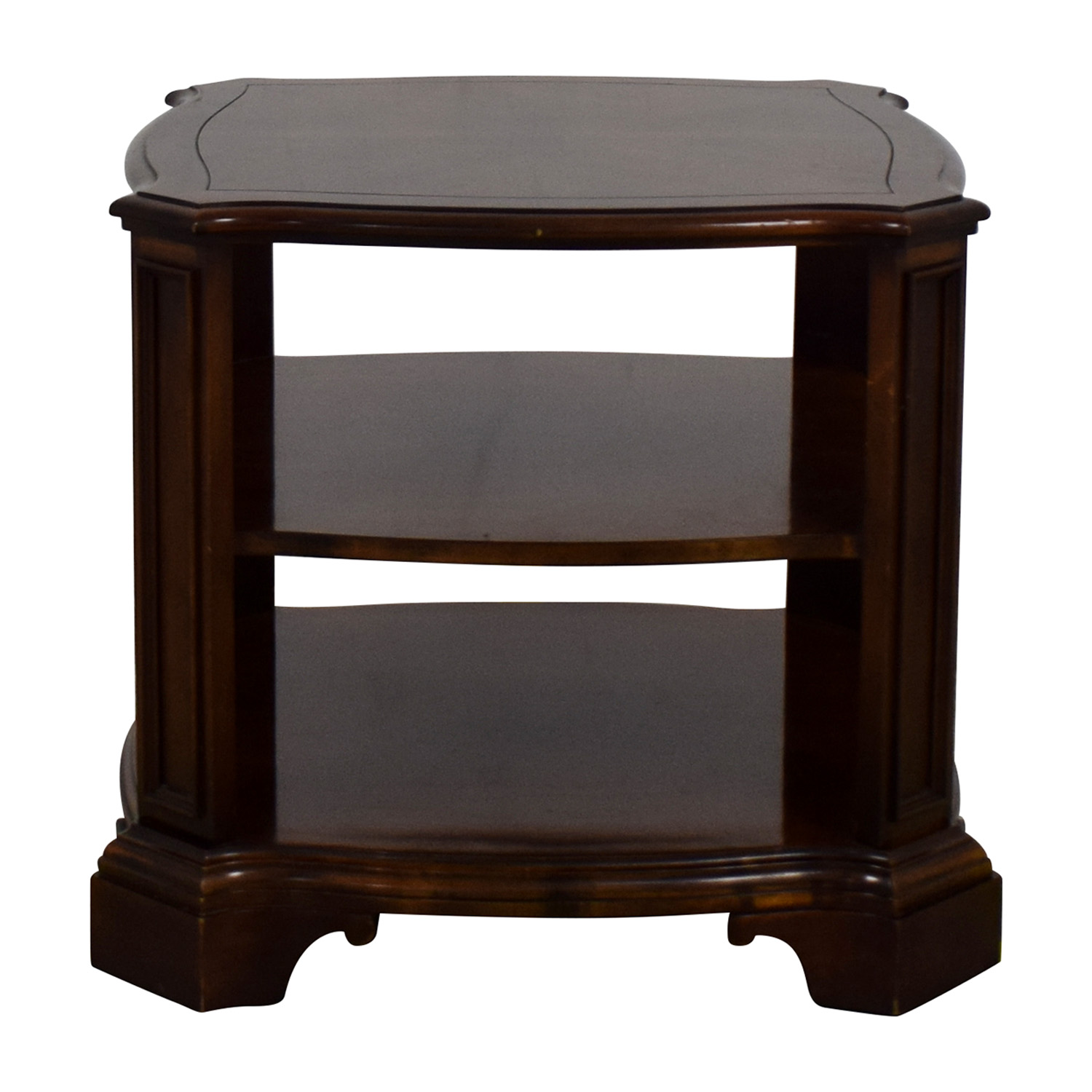 Three Level End Table End Tables
