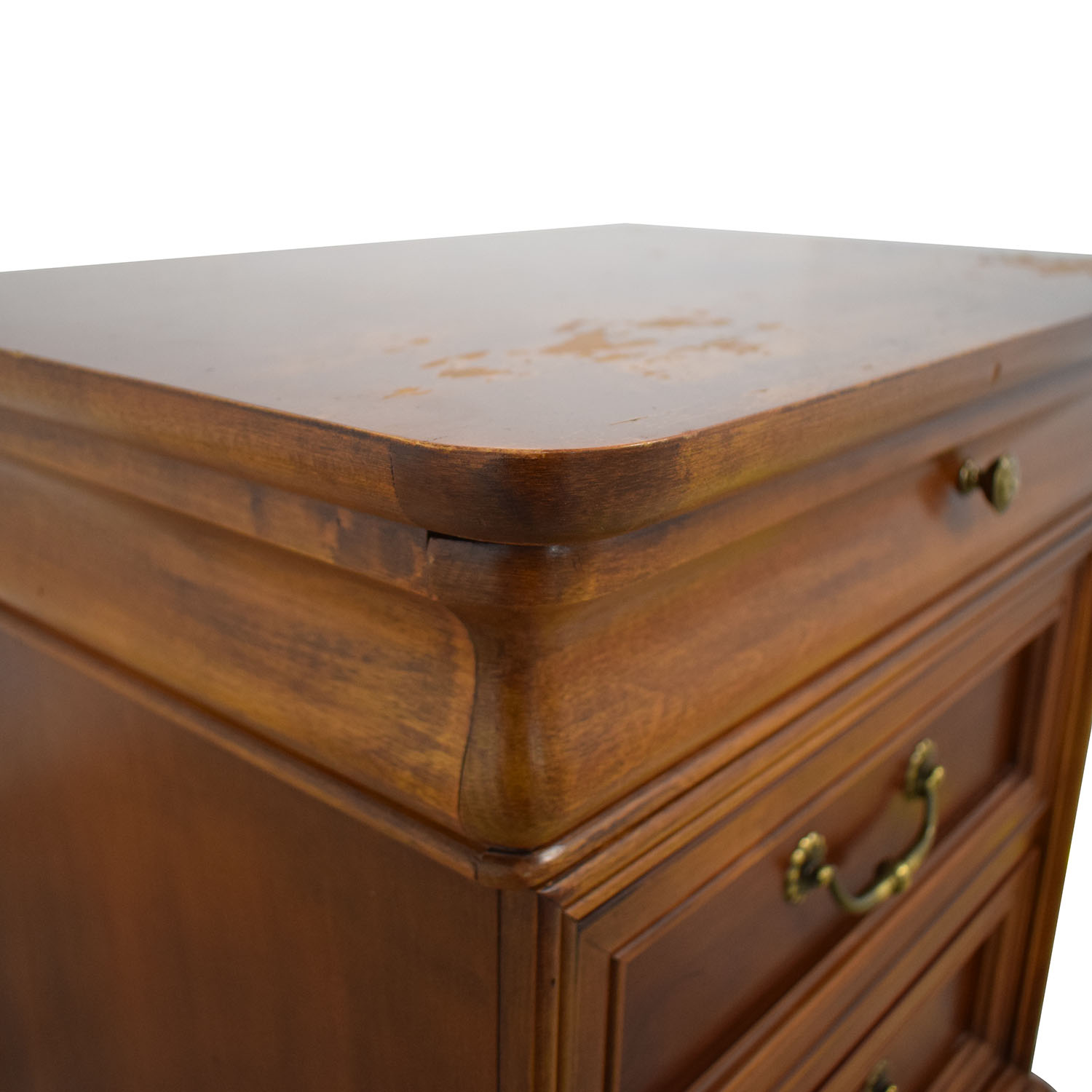 Lexington Three Drawer Nightstand / End Tables
