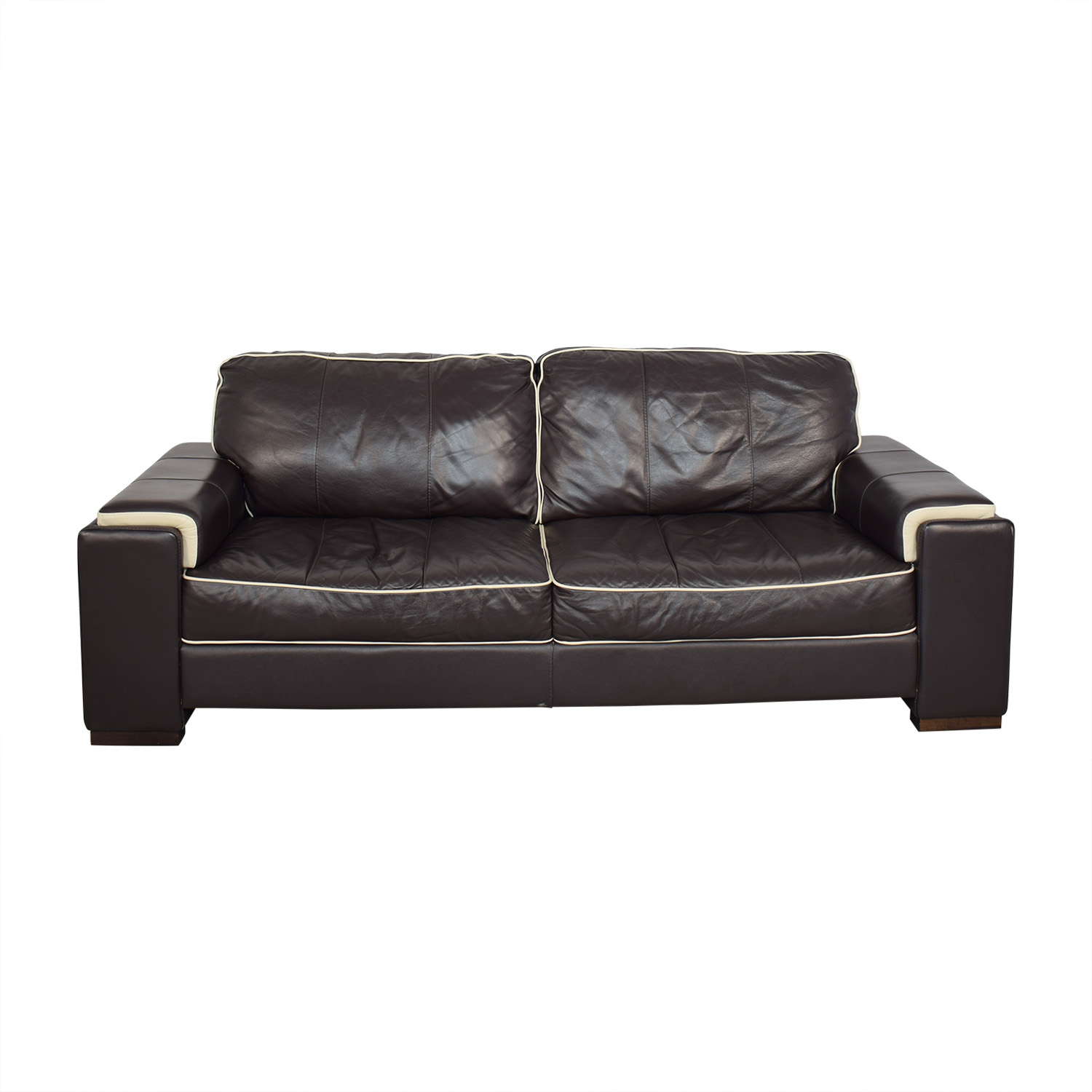 American Signature Soft Line Two Cushion Sofa / Classic Sofas
