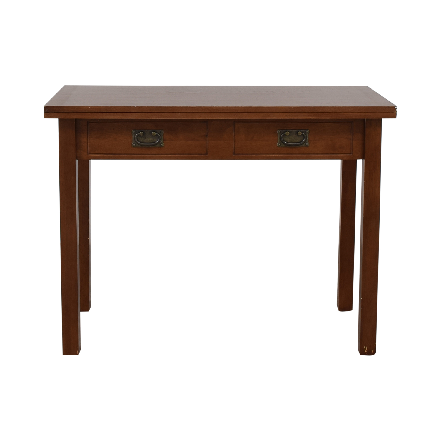 Extendable Table with Drawers on sale