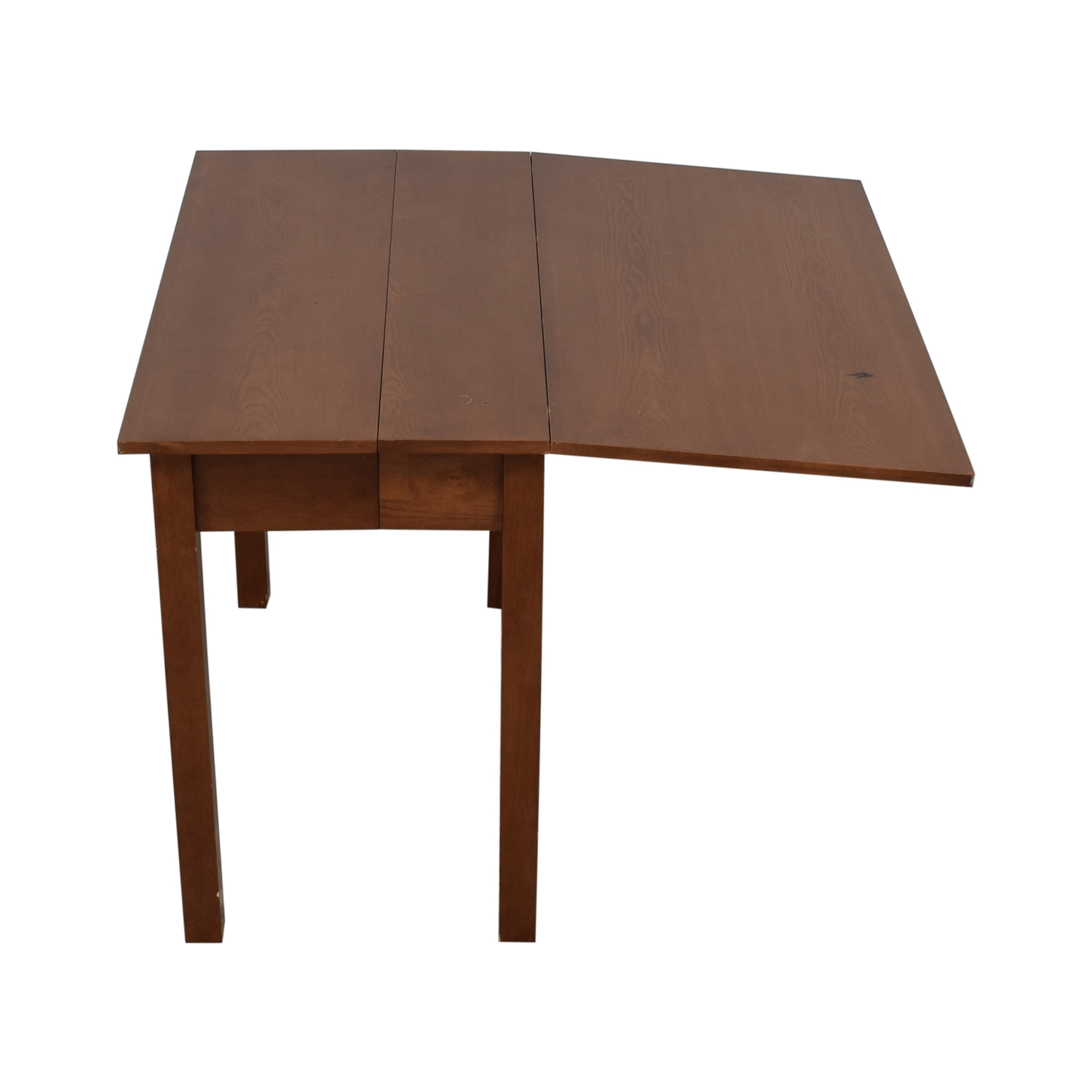 Extendable Table with Drawers used