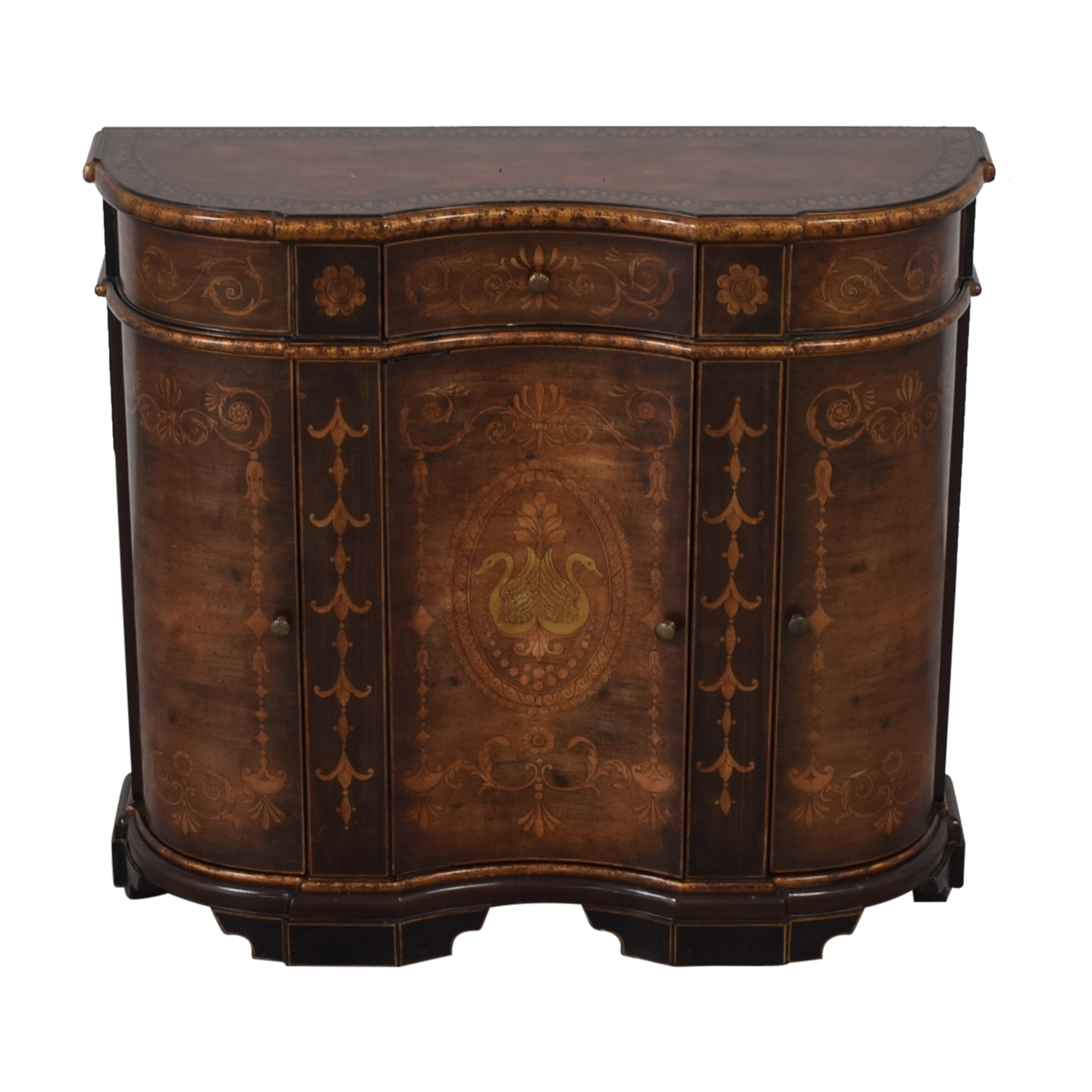 Cabinet with Curved Doors dimensions