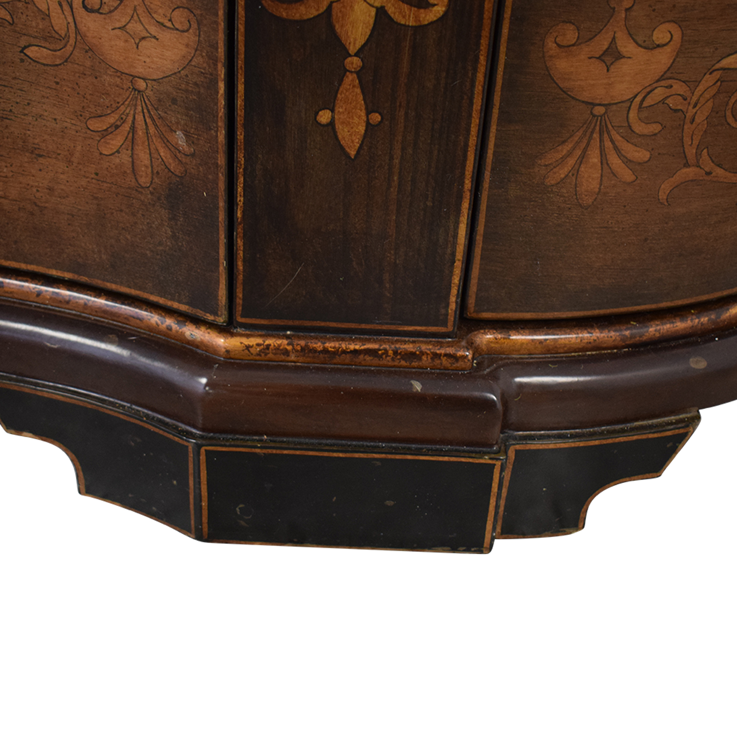 Cabinet with Curved Doors used