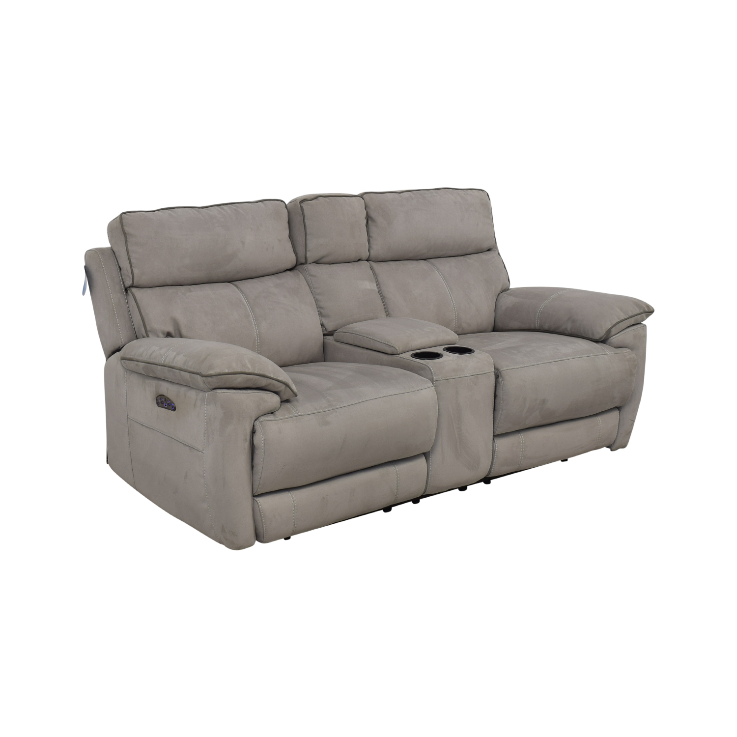 shop Power Reclining Console Loveseat  Sofas