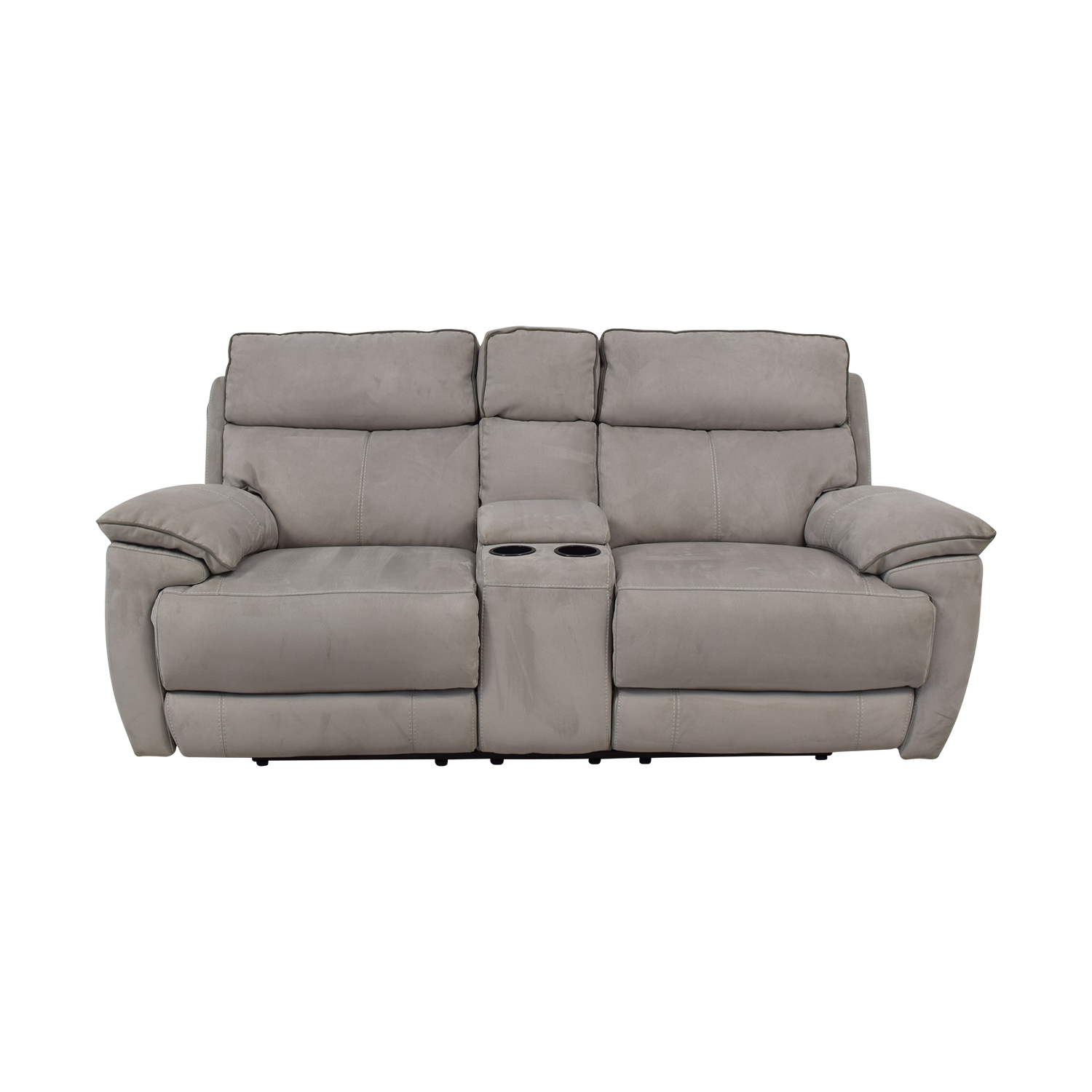 Power Reclining Console Loveseat for sale