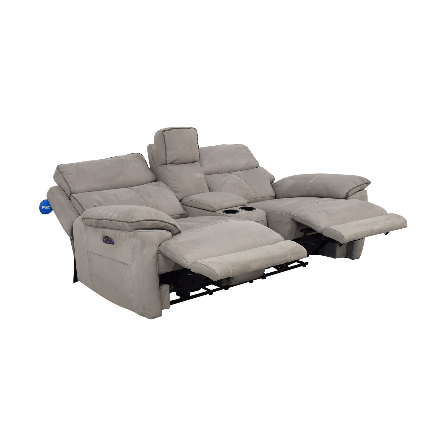 Power Reclining Console Loveseat Sofas