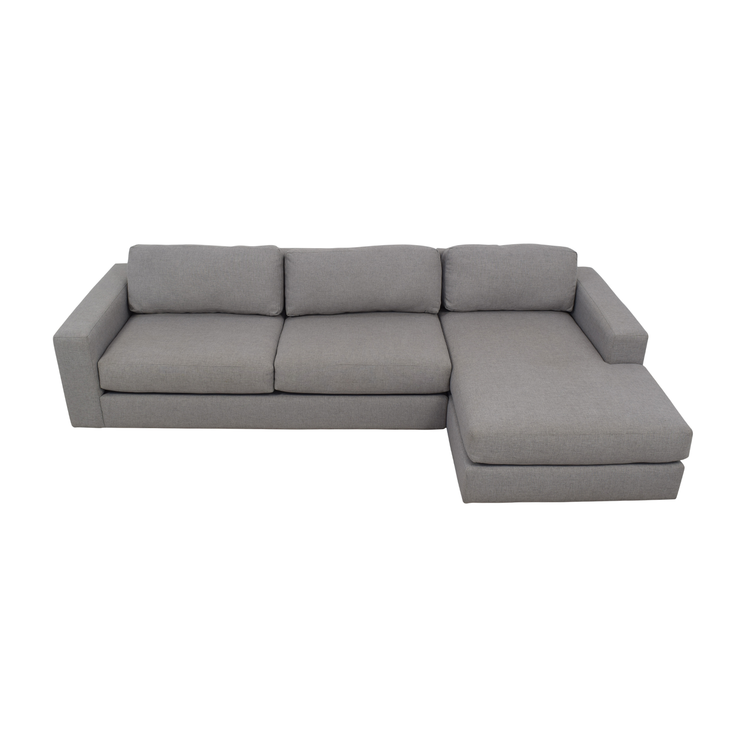 buy West Elm Urban Chaise Sectional Sofa West Elm