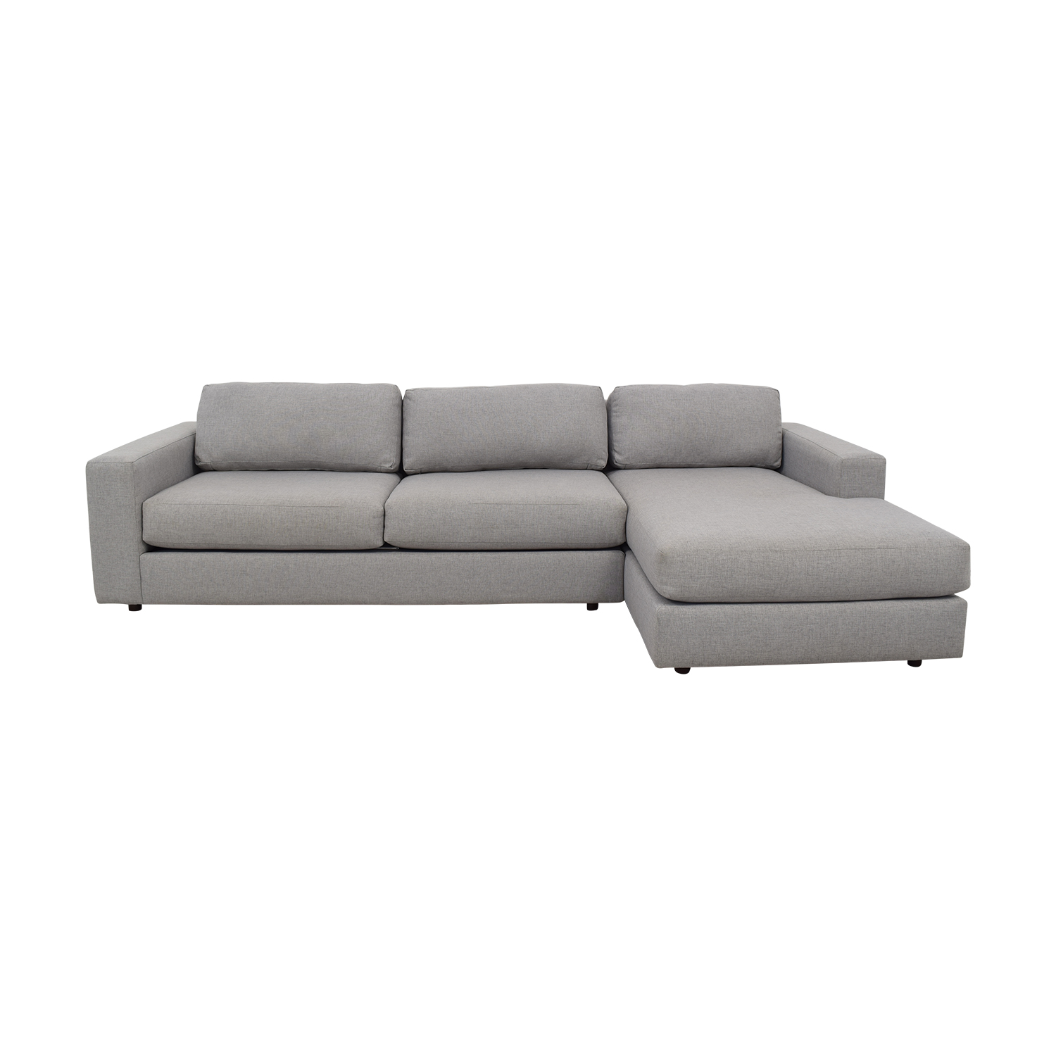 West Elm Urban Chaise Sectional Sofa / Sofas