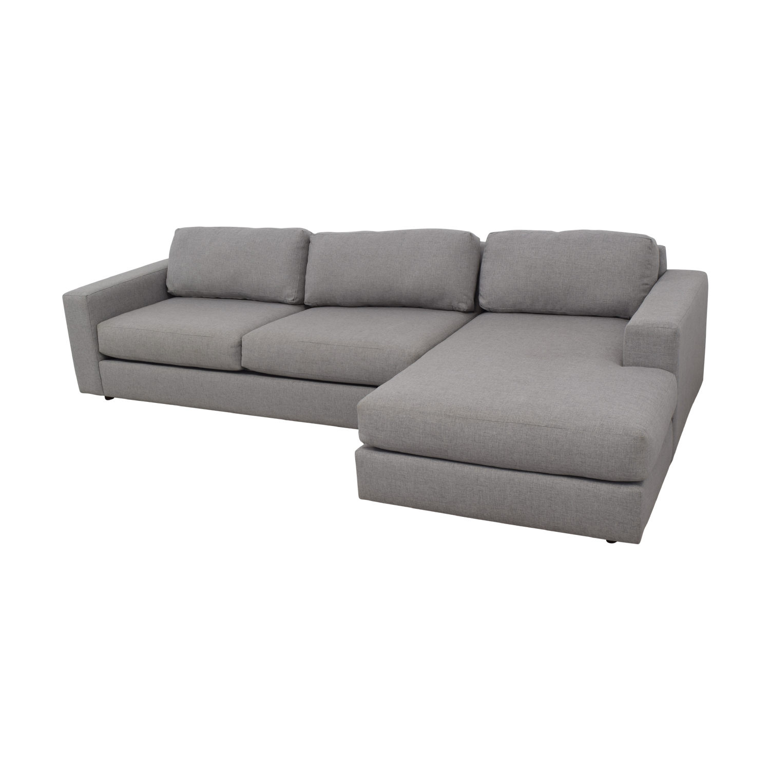 West Elm West Elm Urban Chaise Sectional Sofa second hand