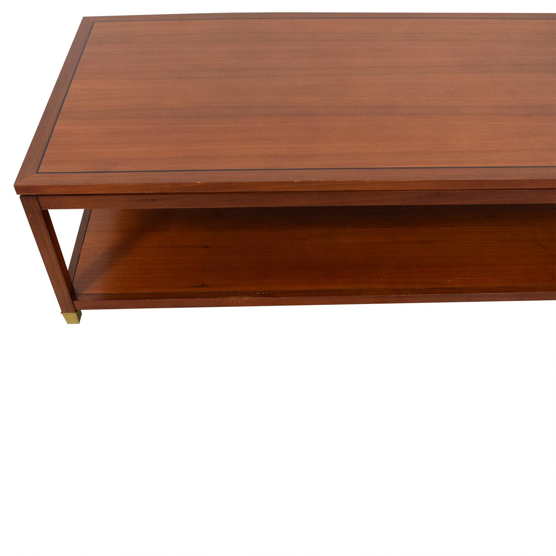 Mitchell Gold + Bob Williams Mitchell Gold + Bob Williams Rectangular Coffee Table nj