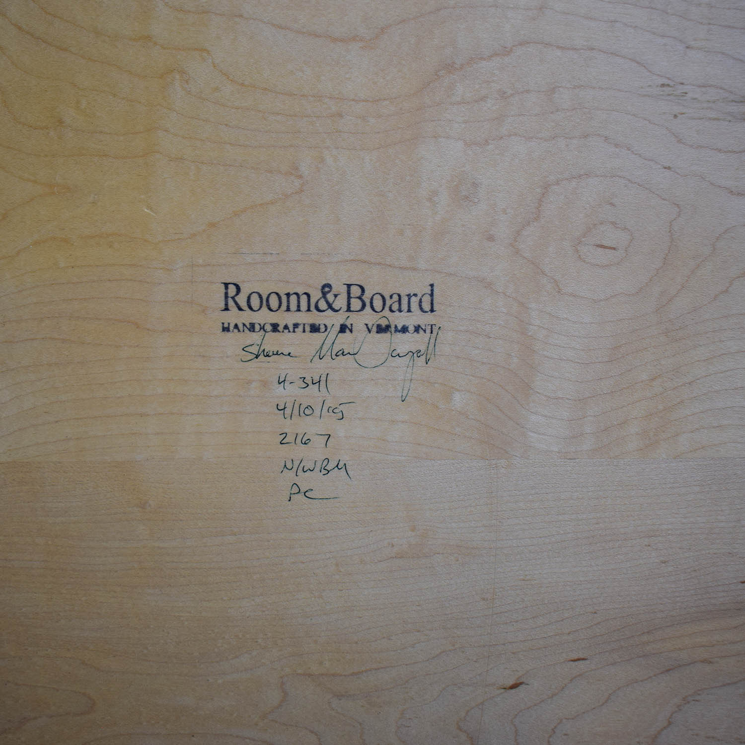 Room & Board Room & Board Aria Round Table nyc