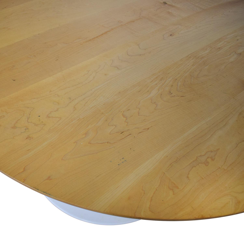 Room & Board Room & Board Aria Round Table tan