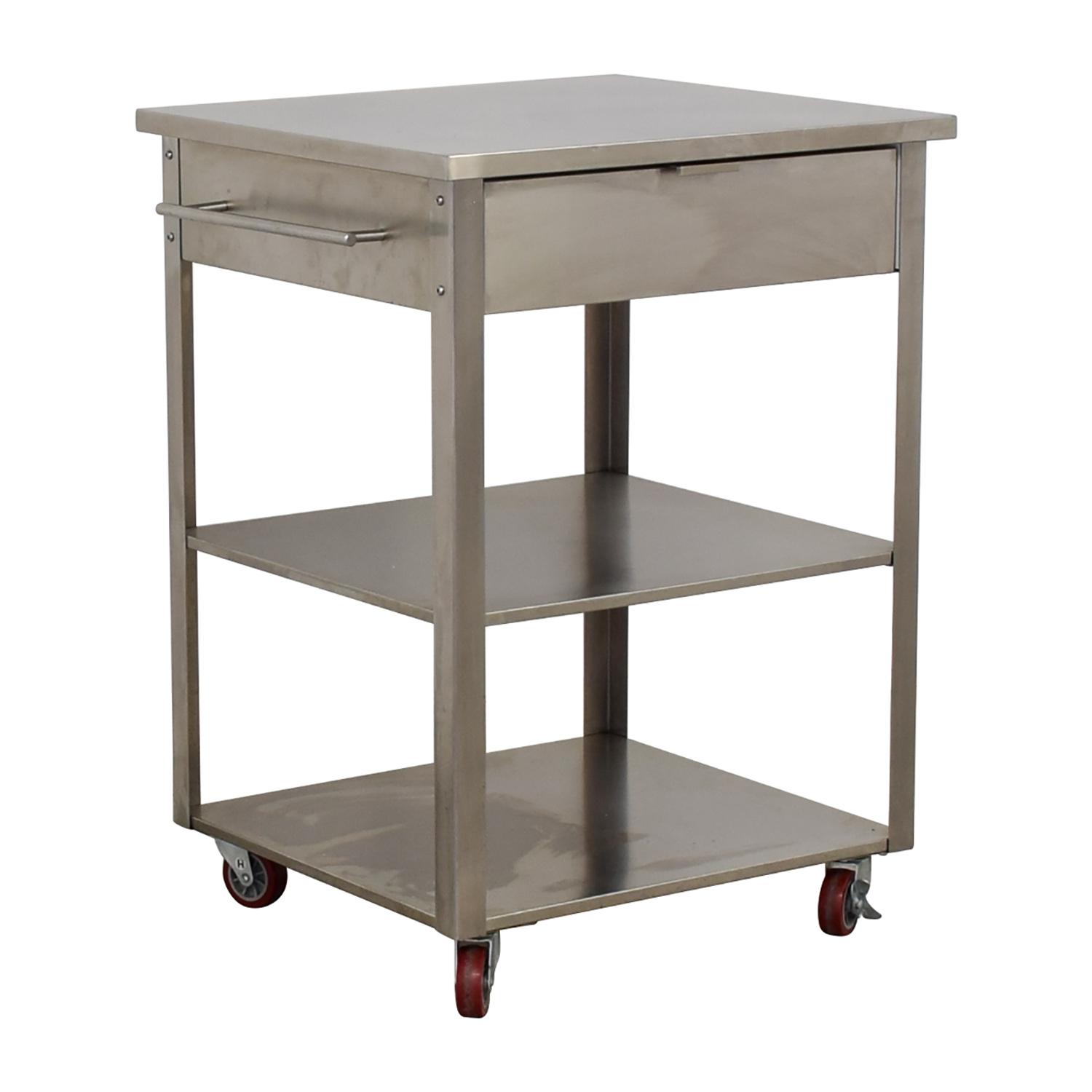 Crosley Furniture Stainless Steel Kitchen Cart / Utility Tables